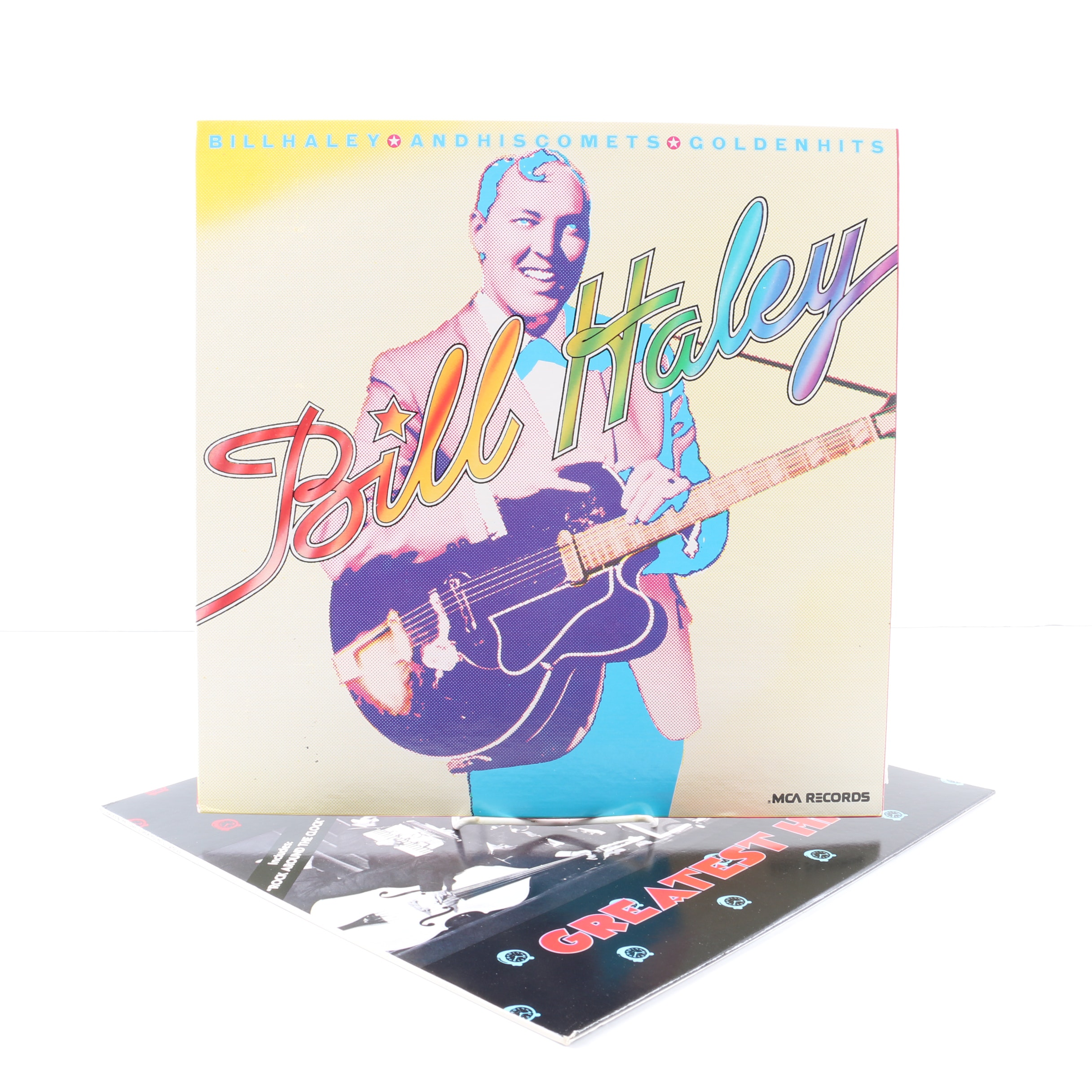 """Bill Haley And His Comets LPs Including """"Live In New York"""" and """"Golden Hits"""""""