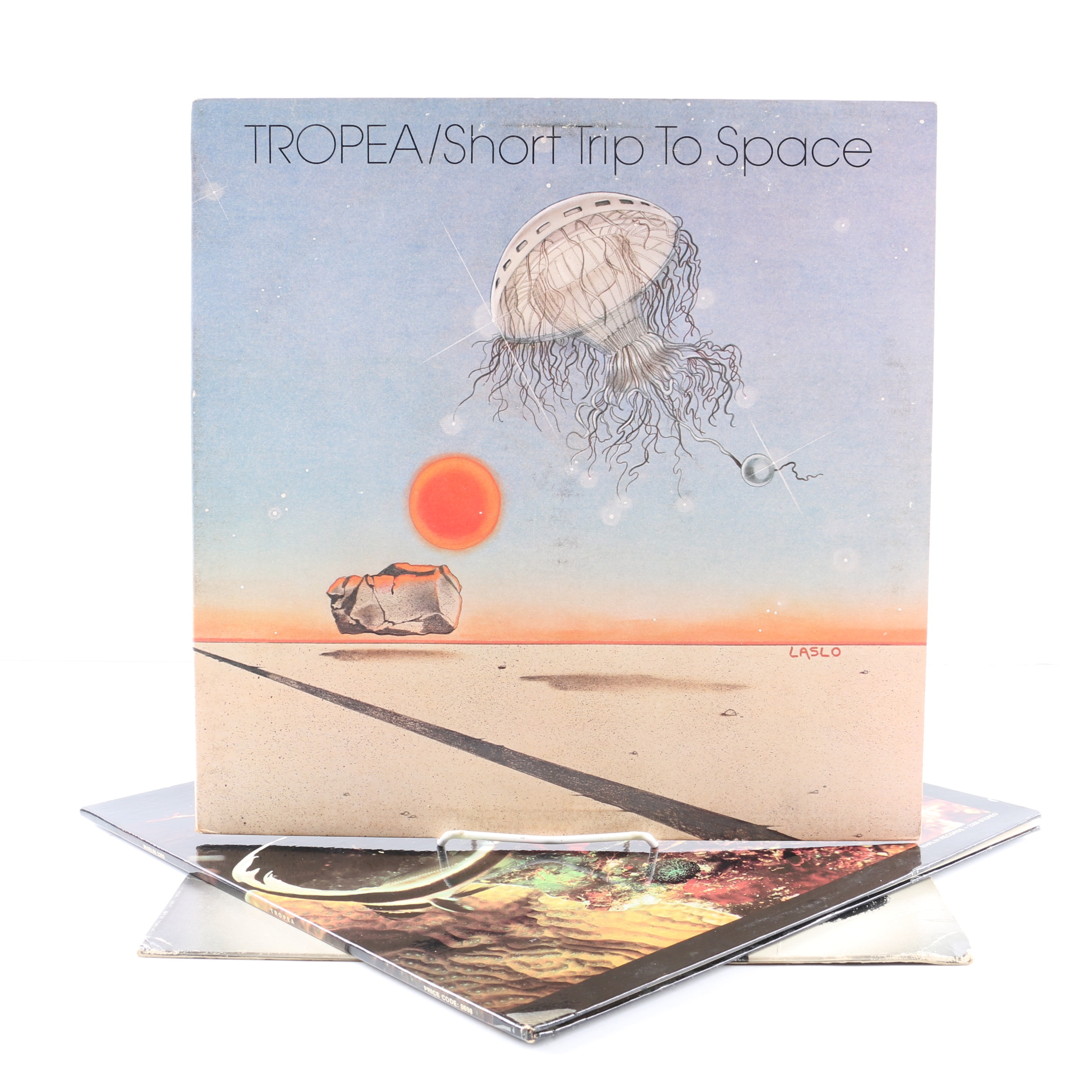 """Tropea and the Brecker Brothers LPs Including """"Short Trip To Space"""""""
