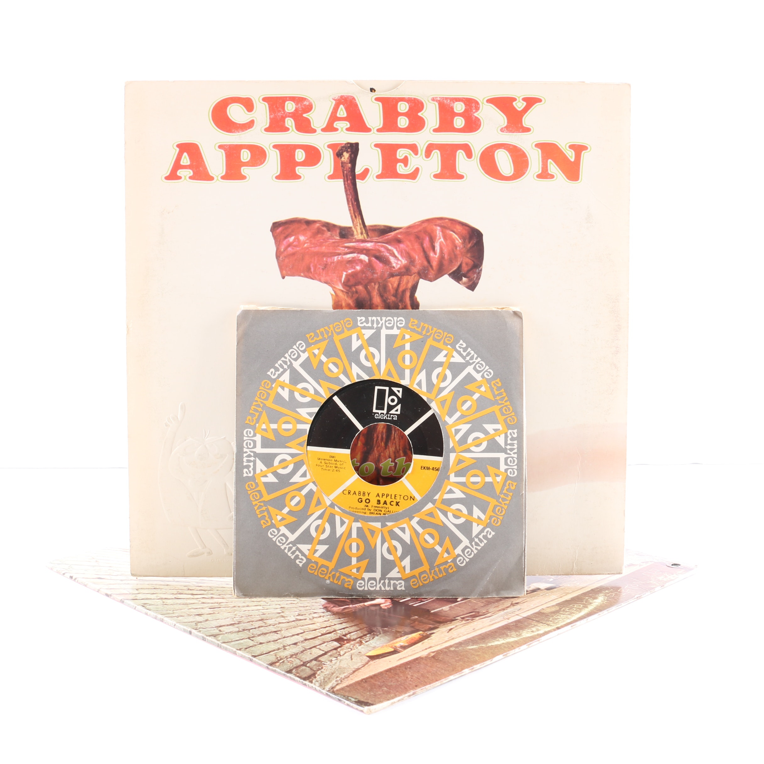 "Crabby Appleton LP and 45 rpm Records Including ""Rotten To The Core!"""