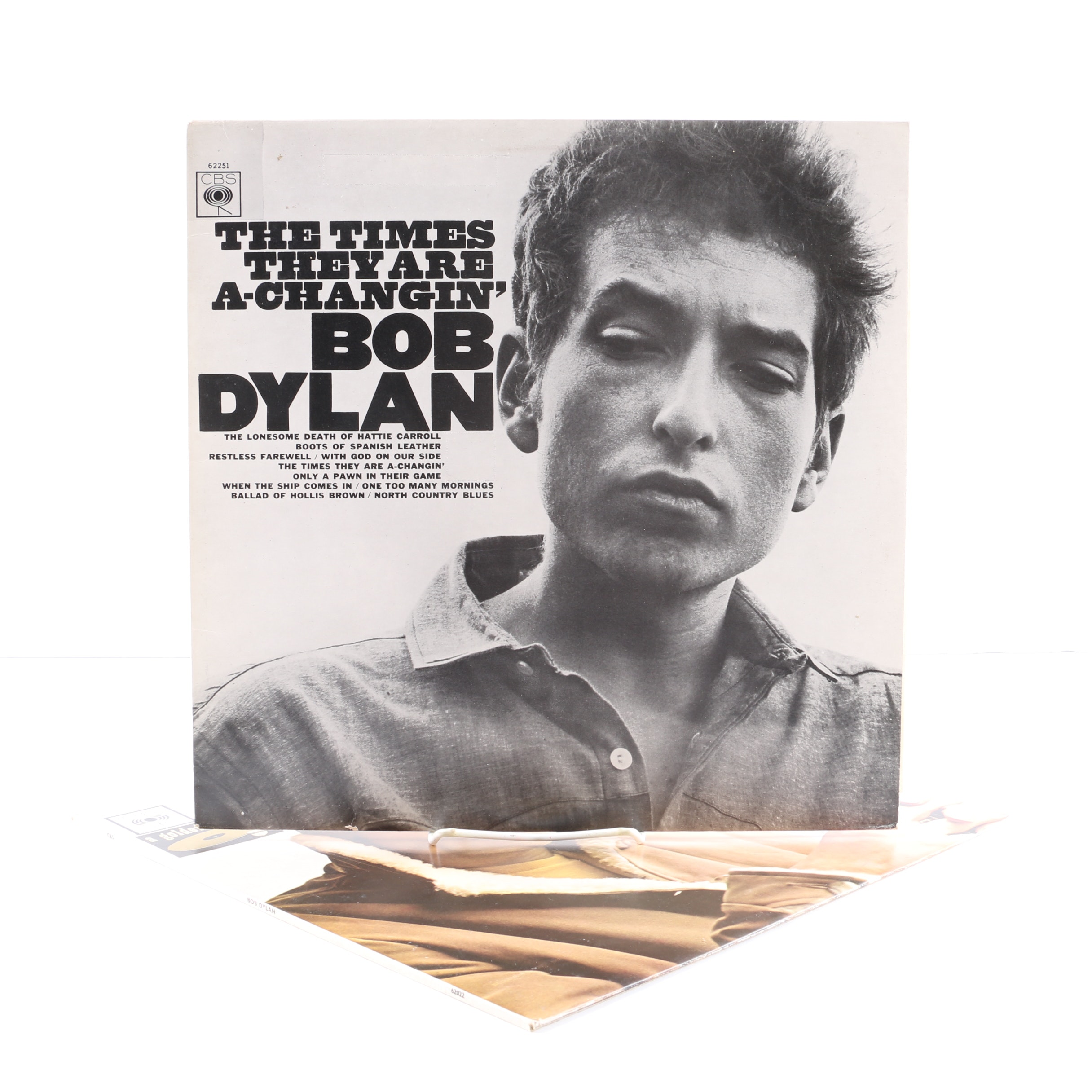 """Bob Dylan LPs Including """"The Times They Are A-Changin'"""" UK Stereo Pressing"""