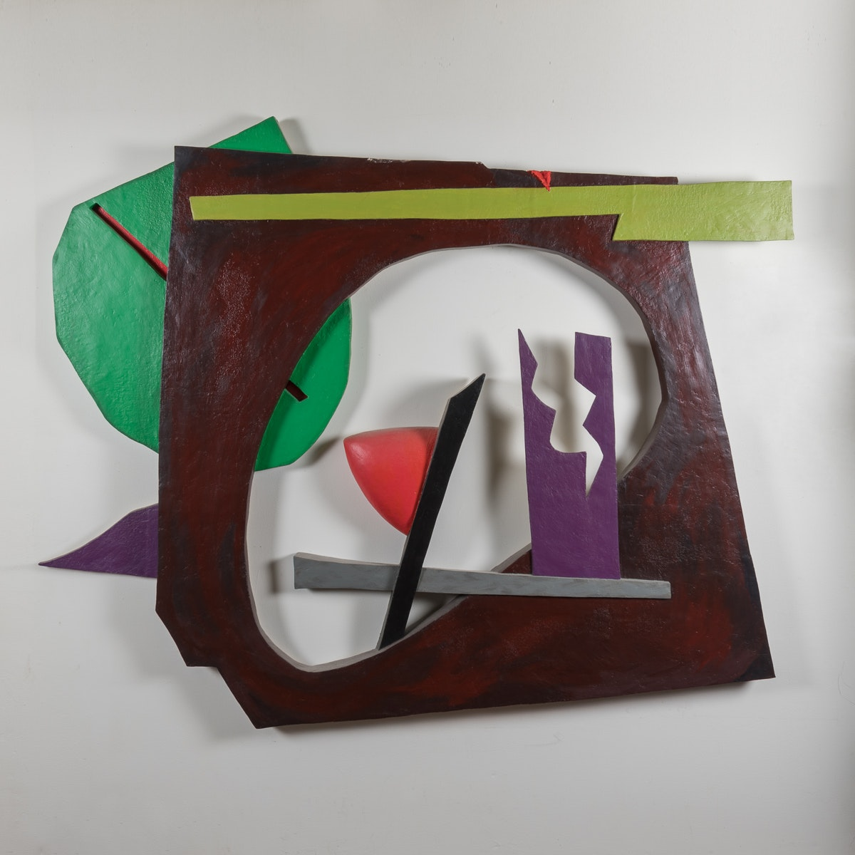 """Bill Schiffer Mixed Media Sculpture """"Brazil"""""""