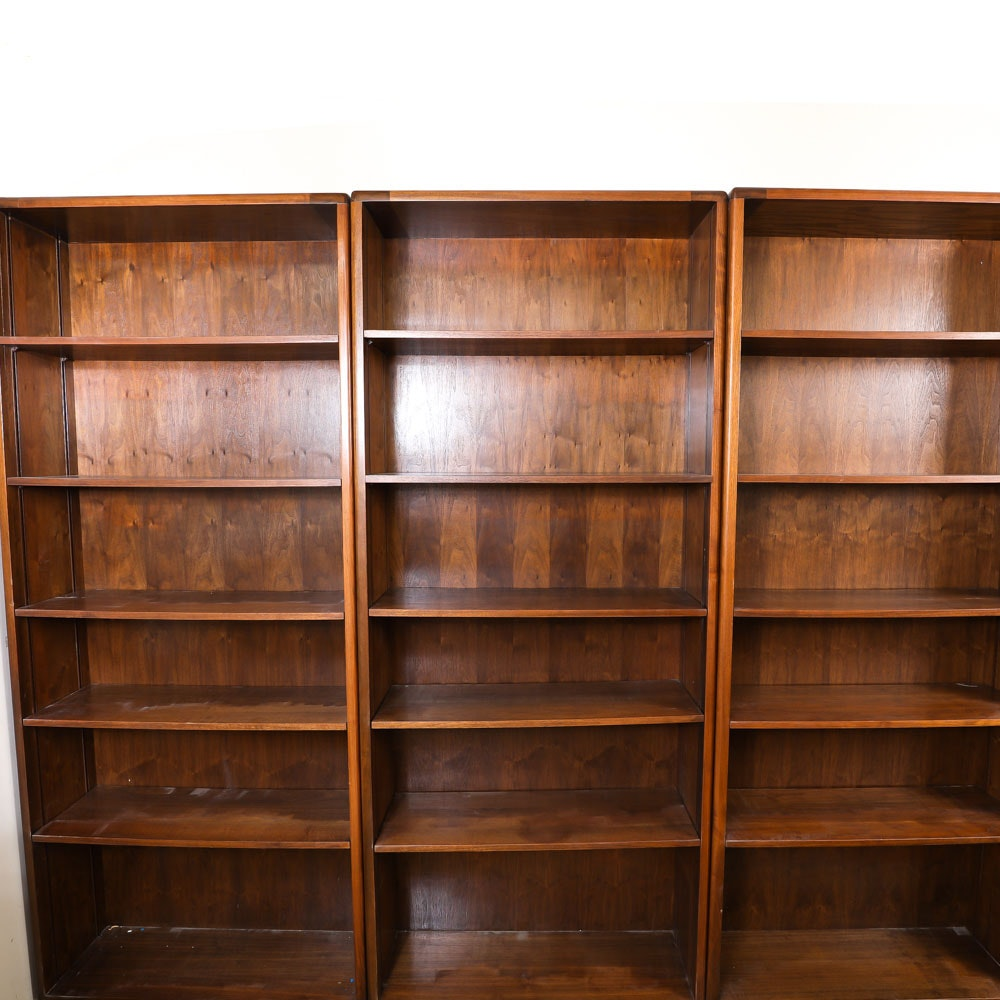 Oak Finished Bookcases