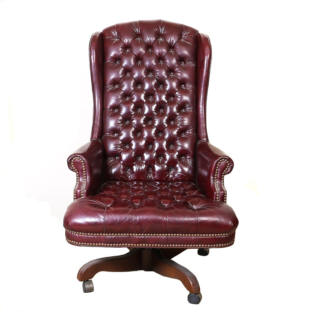 Vintage Executive Rolling Office Chair