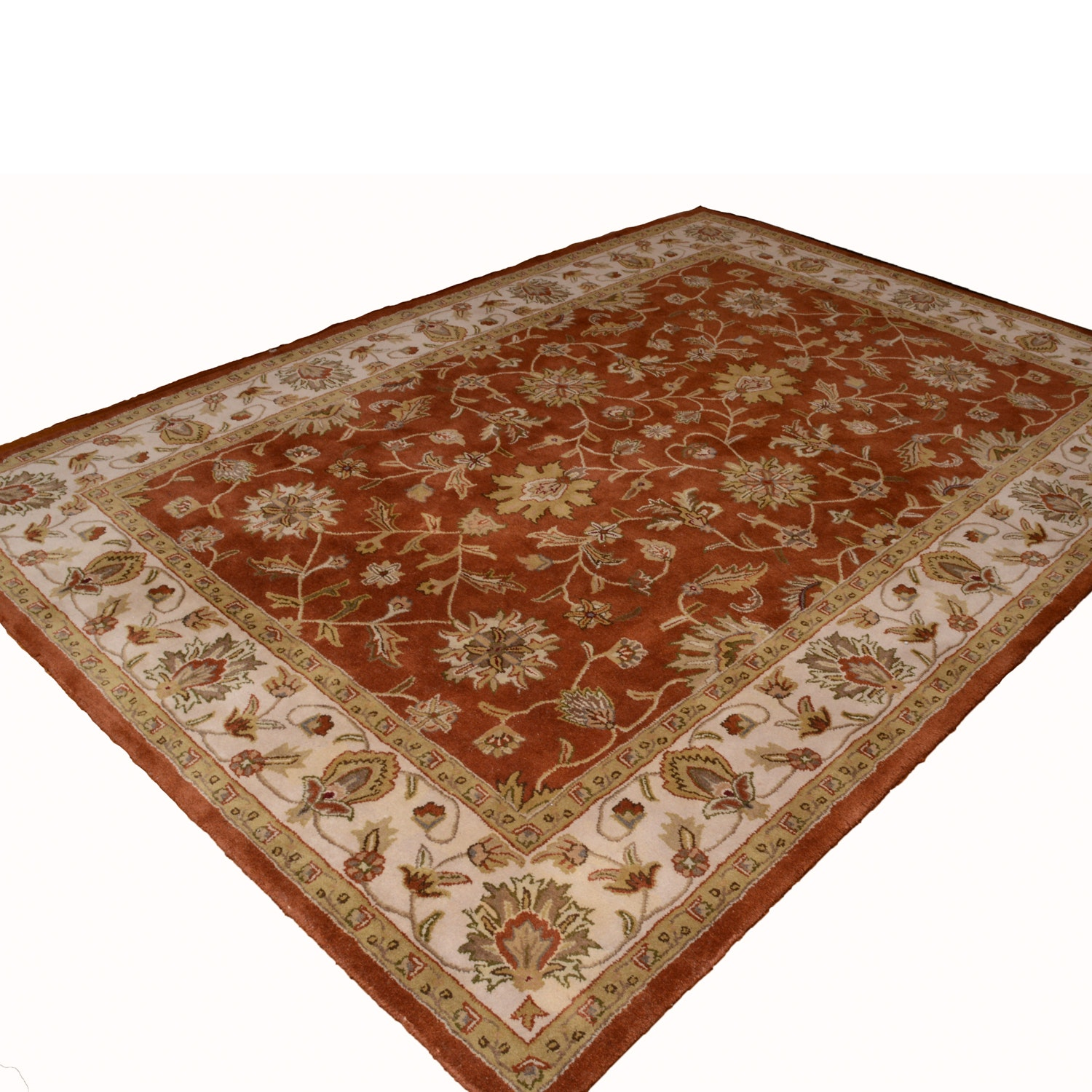 Hand-Tufted Wool Area Rug by Artistic Weavers