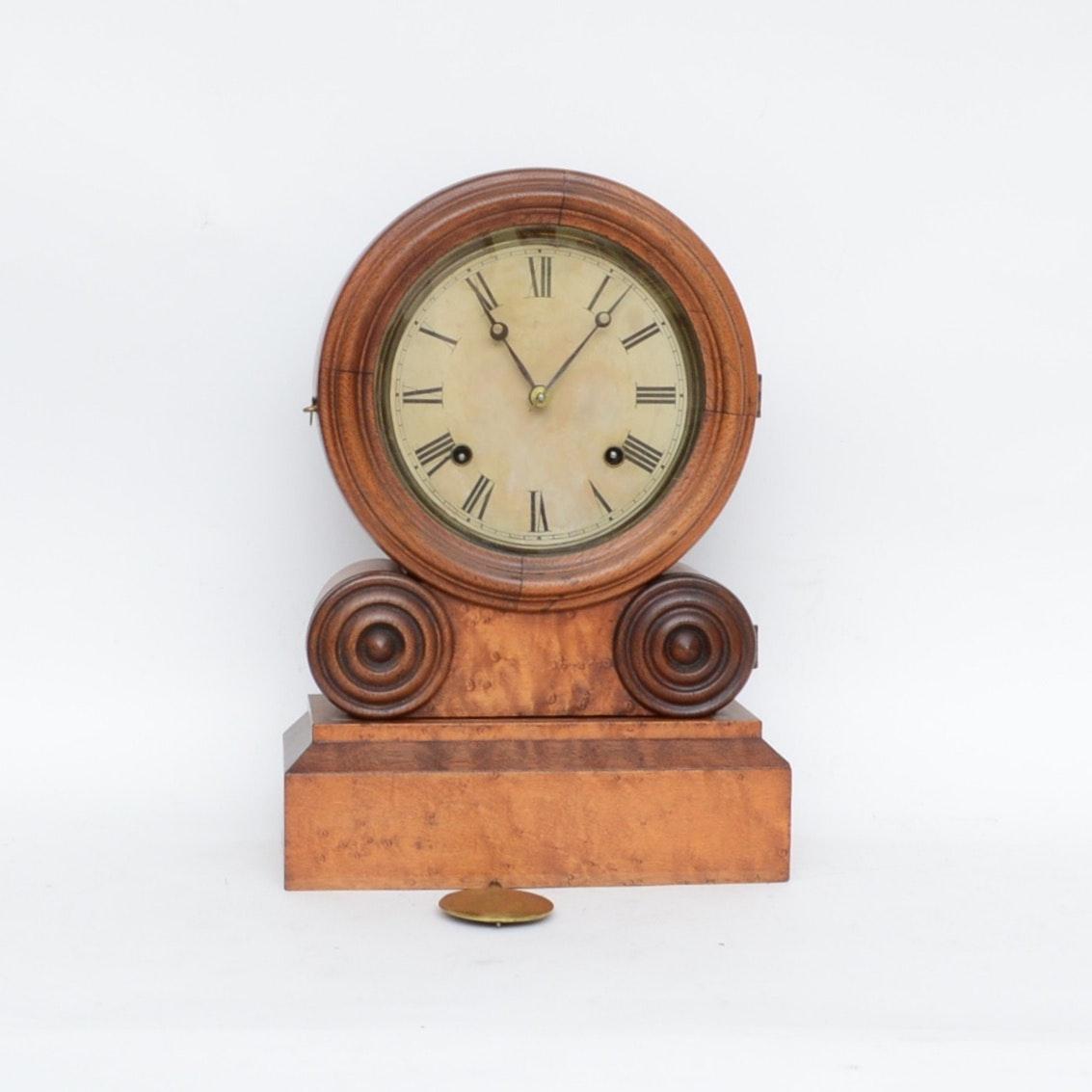 Antique Ingraham Grecian Mantel Clock