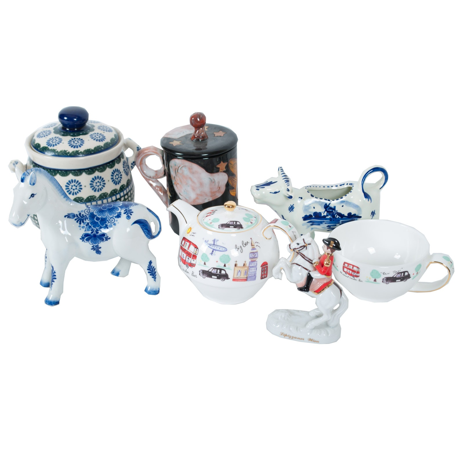 Delft Blue and Home Decor Ceramic Collectables