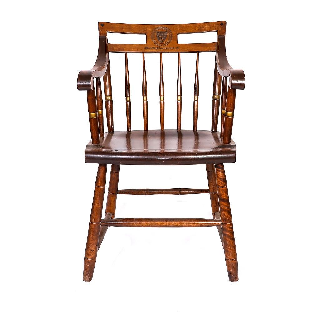 Wooden Harvard Medical School Chair