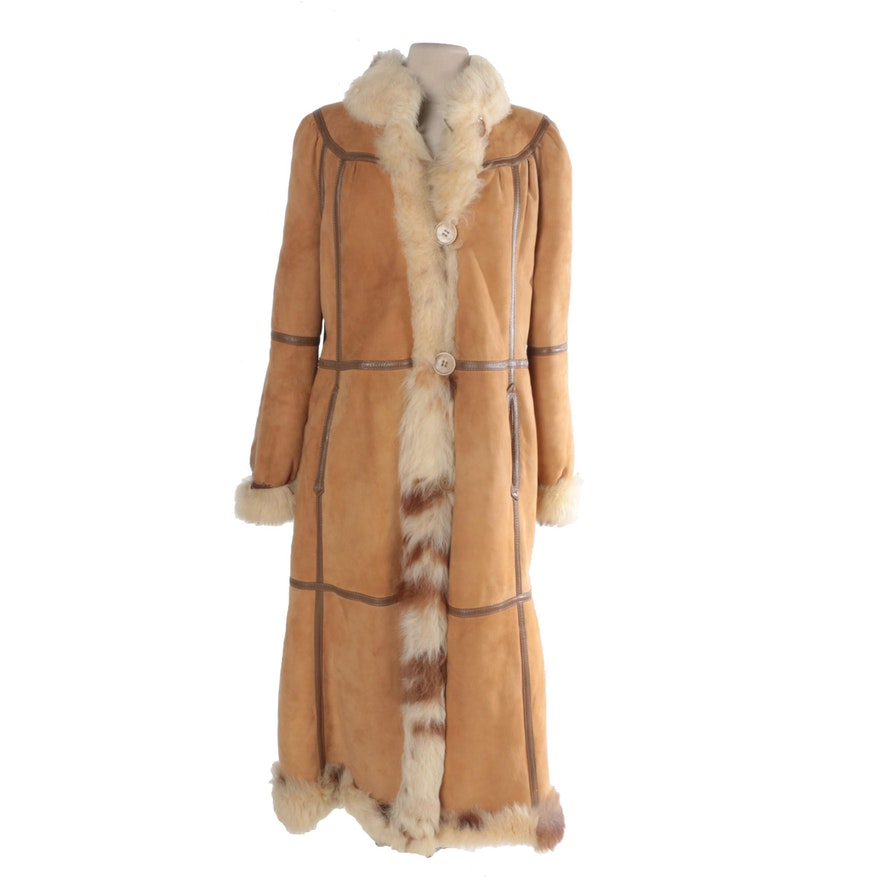 29b2bd3d28 Women s Vintage Sheepskin Coat   EBTH