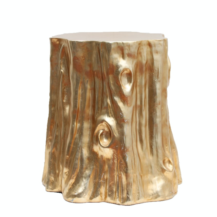 Marvelous Faux Tree Stump Accent Table Camellatalisay Diy Chair Ideas Camellatalisaycom