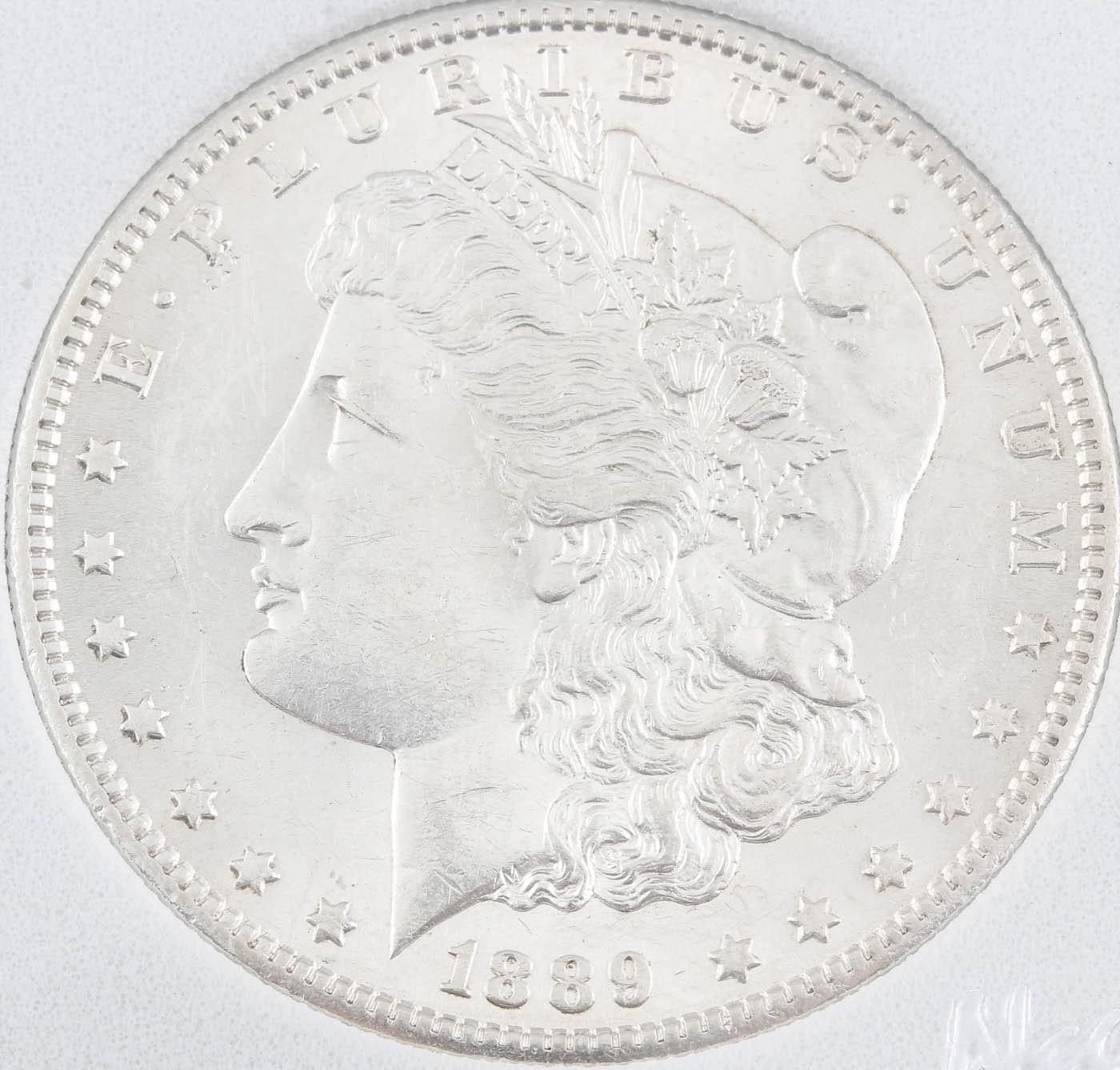 1889-S Silver Morgan Dollar