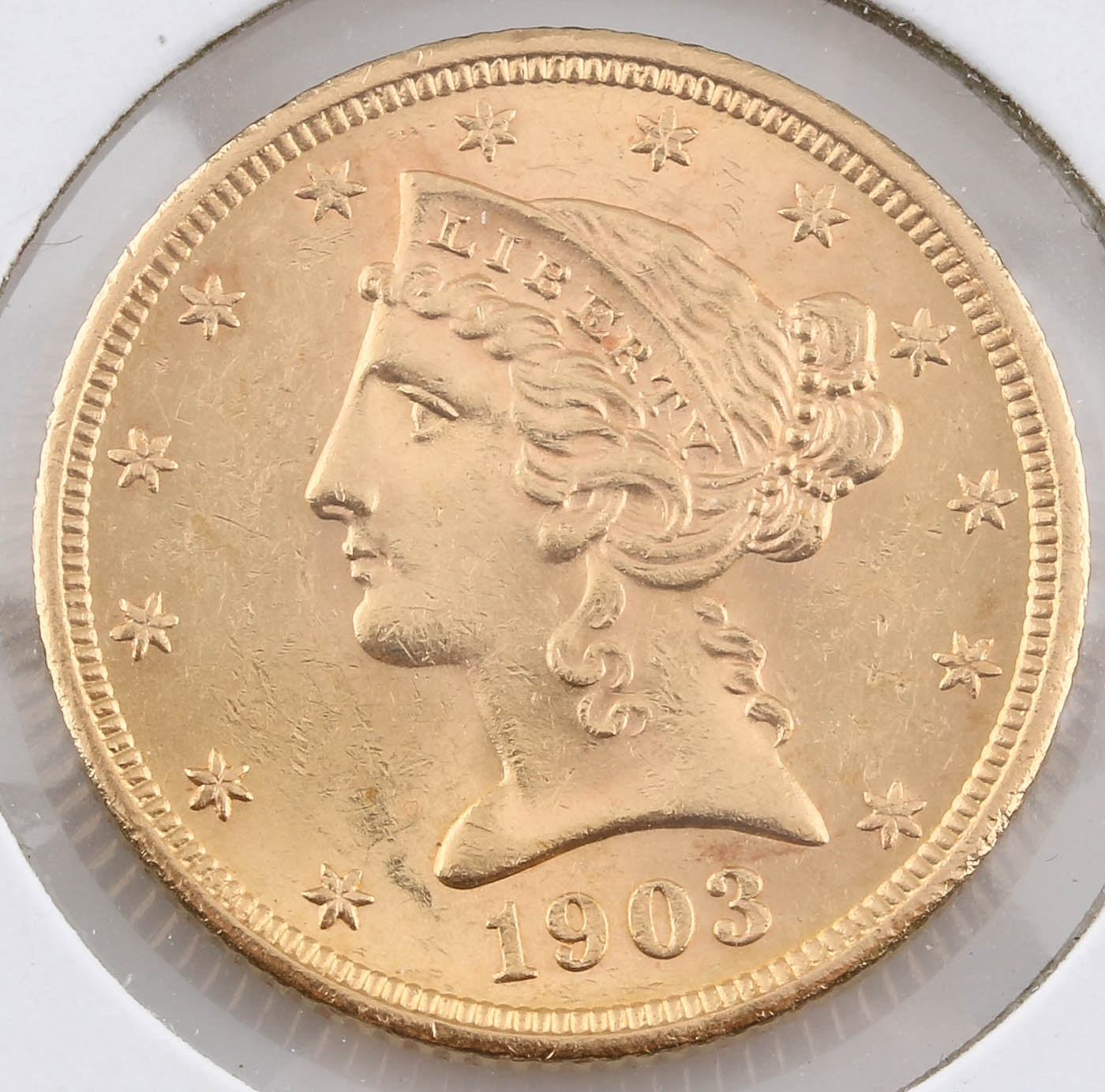 1903-S Liberty Head $5 Gold Coin