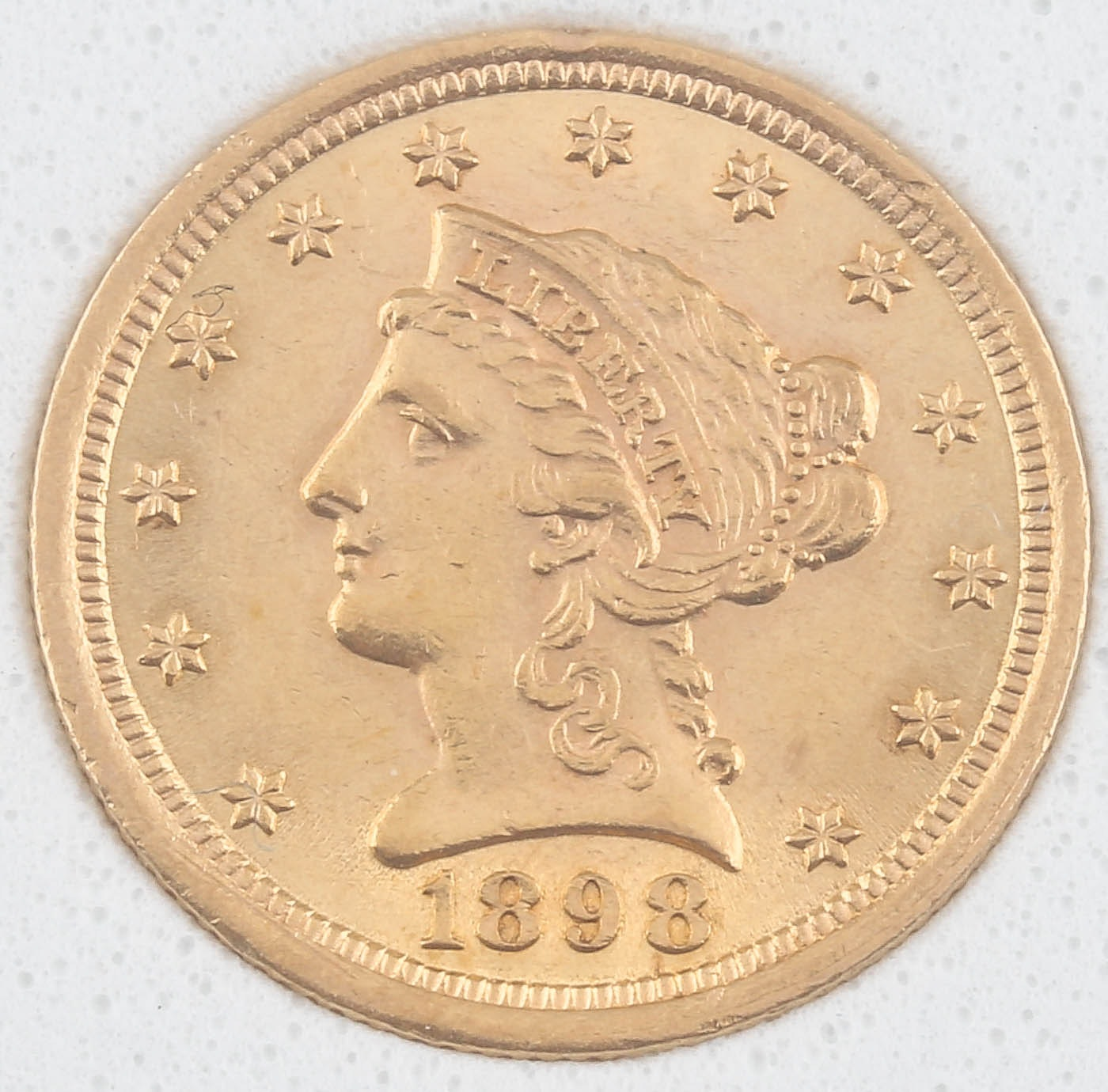 1898 Liberty Head $2 1/2 Gold Coin