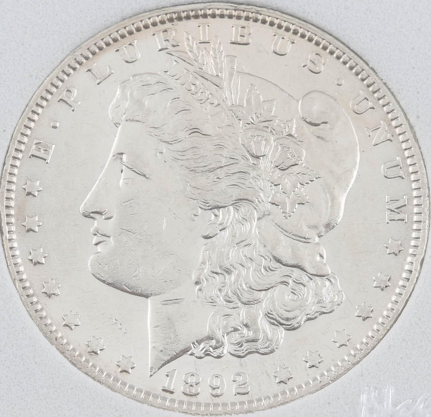1892-O Silver Morgan Dollar