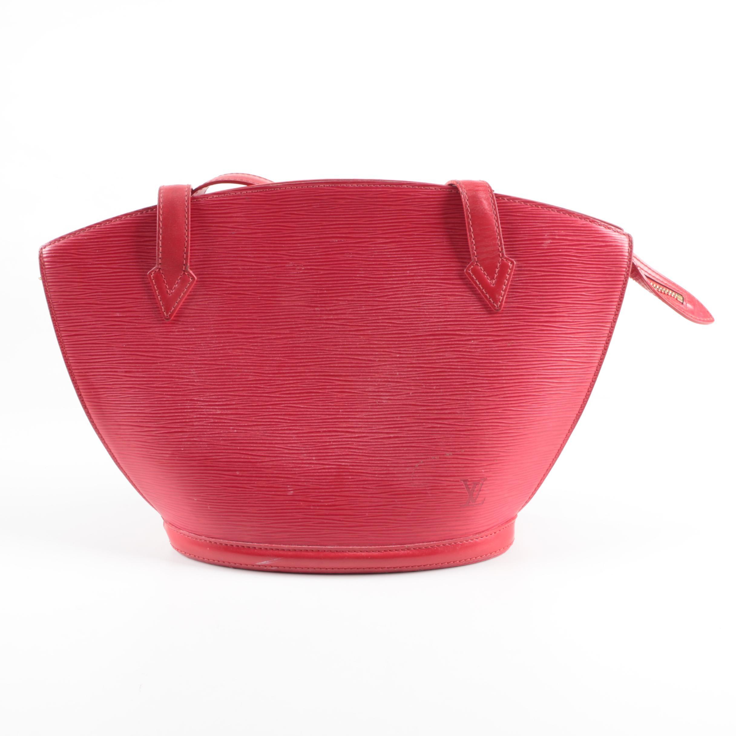 Louis Vuitton Saint Jacques Epi Leather Handbag