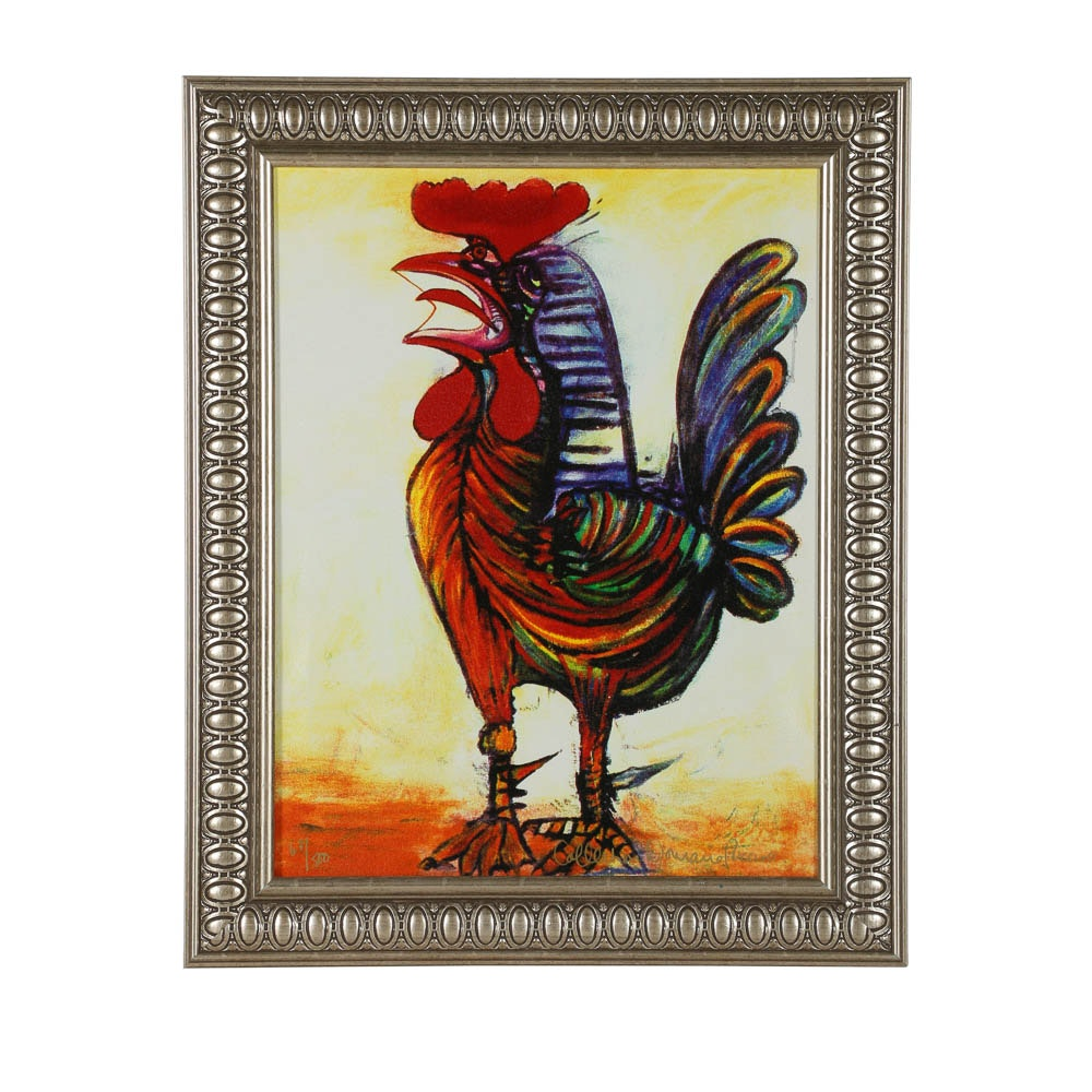 "Reproduction Giclée After Pablo Picasso ""The Rooster"""