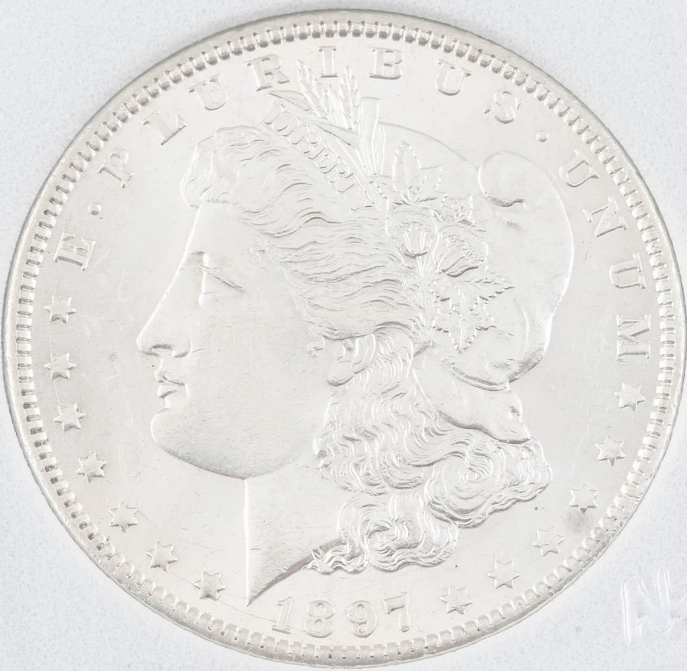 1897-O Silver Morgan Dollar