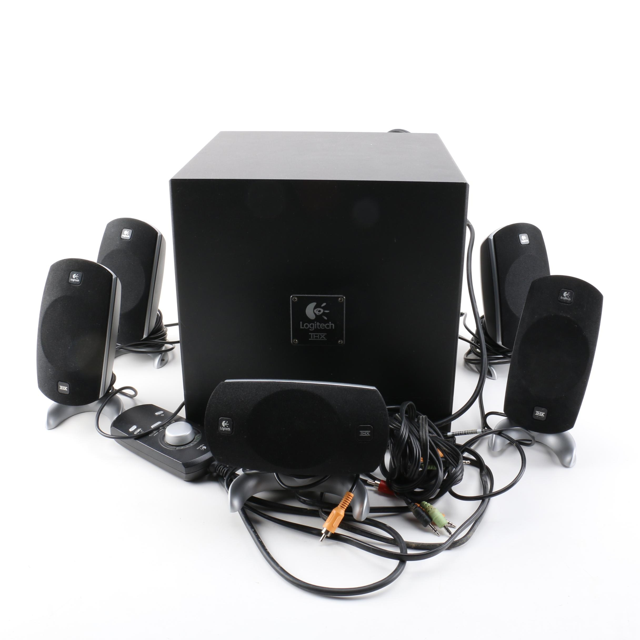 Logitech Z-5300 Surround Sound Speaker System