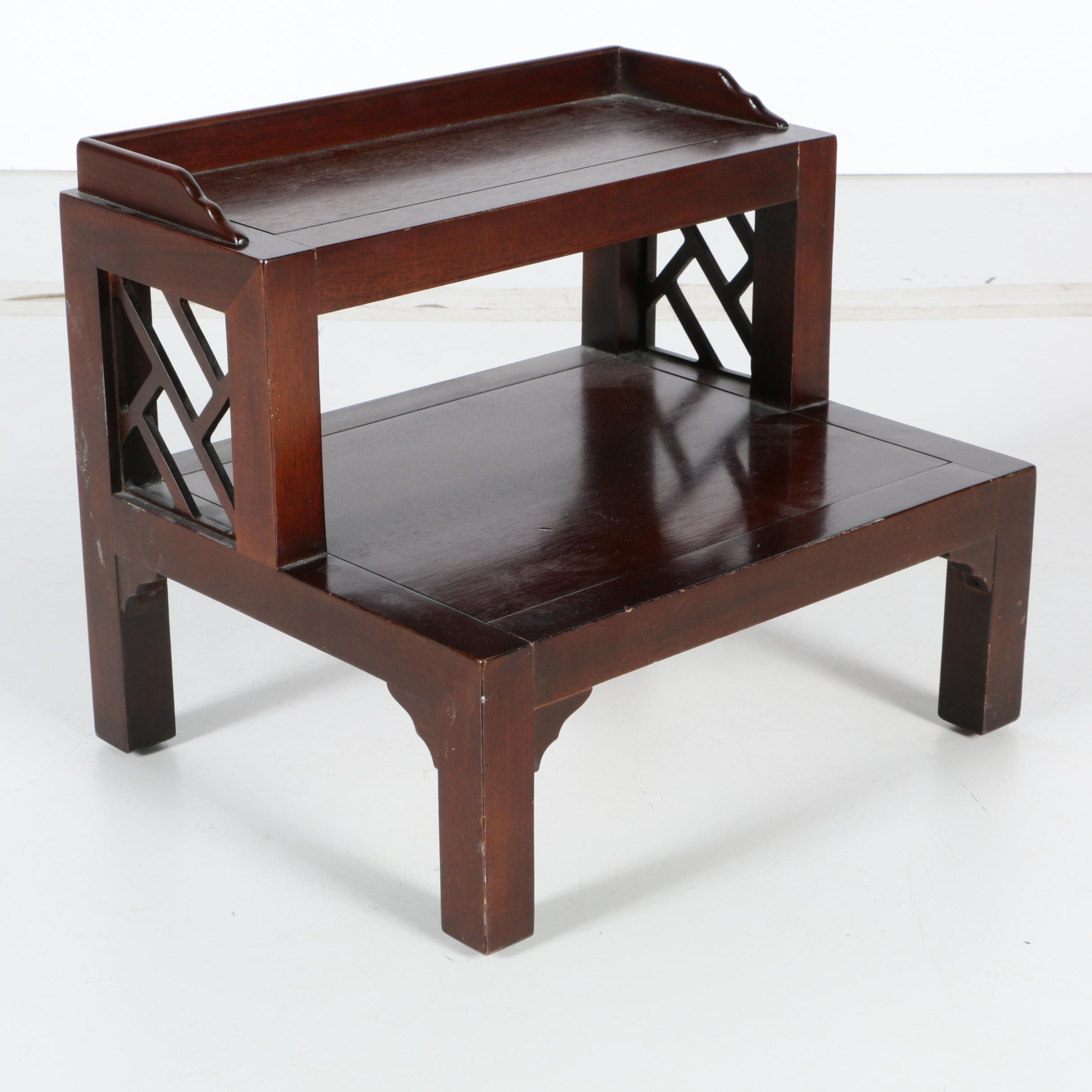 Small Wooden Step Stool