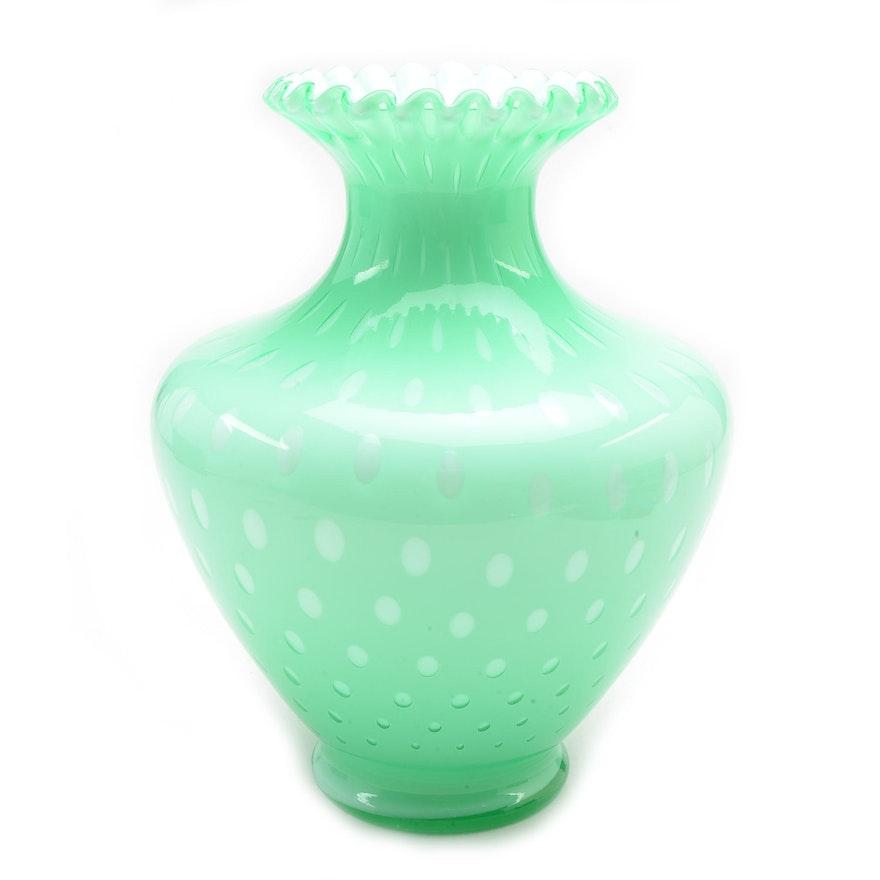 Vintage Fenton Vase Ebth