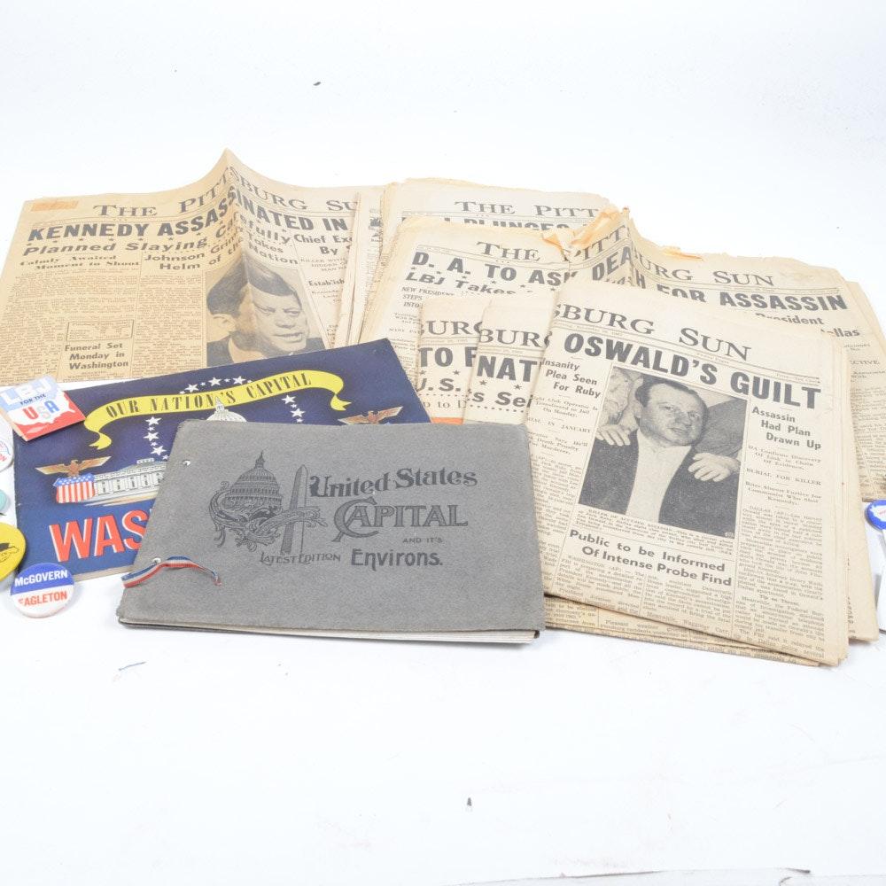 20th Century Political Memorabilia