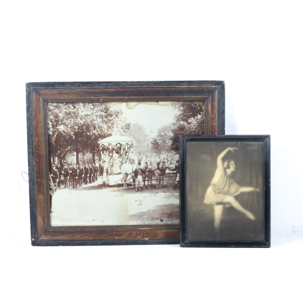 Framed Vintage Photographs