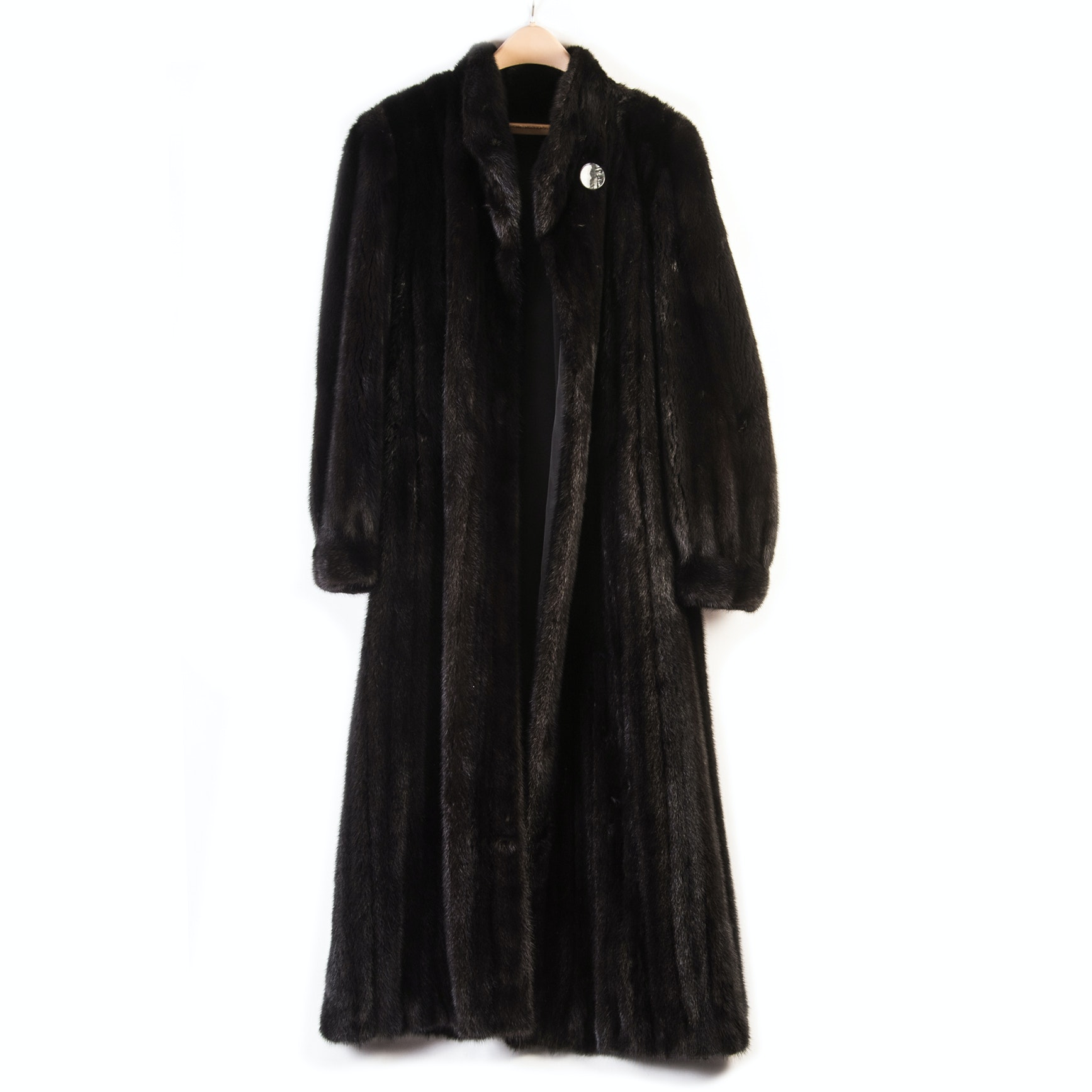 Full-Length Mink Fur Coat