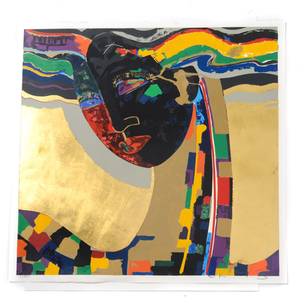 Orlando Agudelo-Botero Limited Edition Hand-Pulled Serigraph