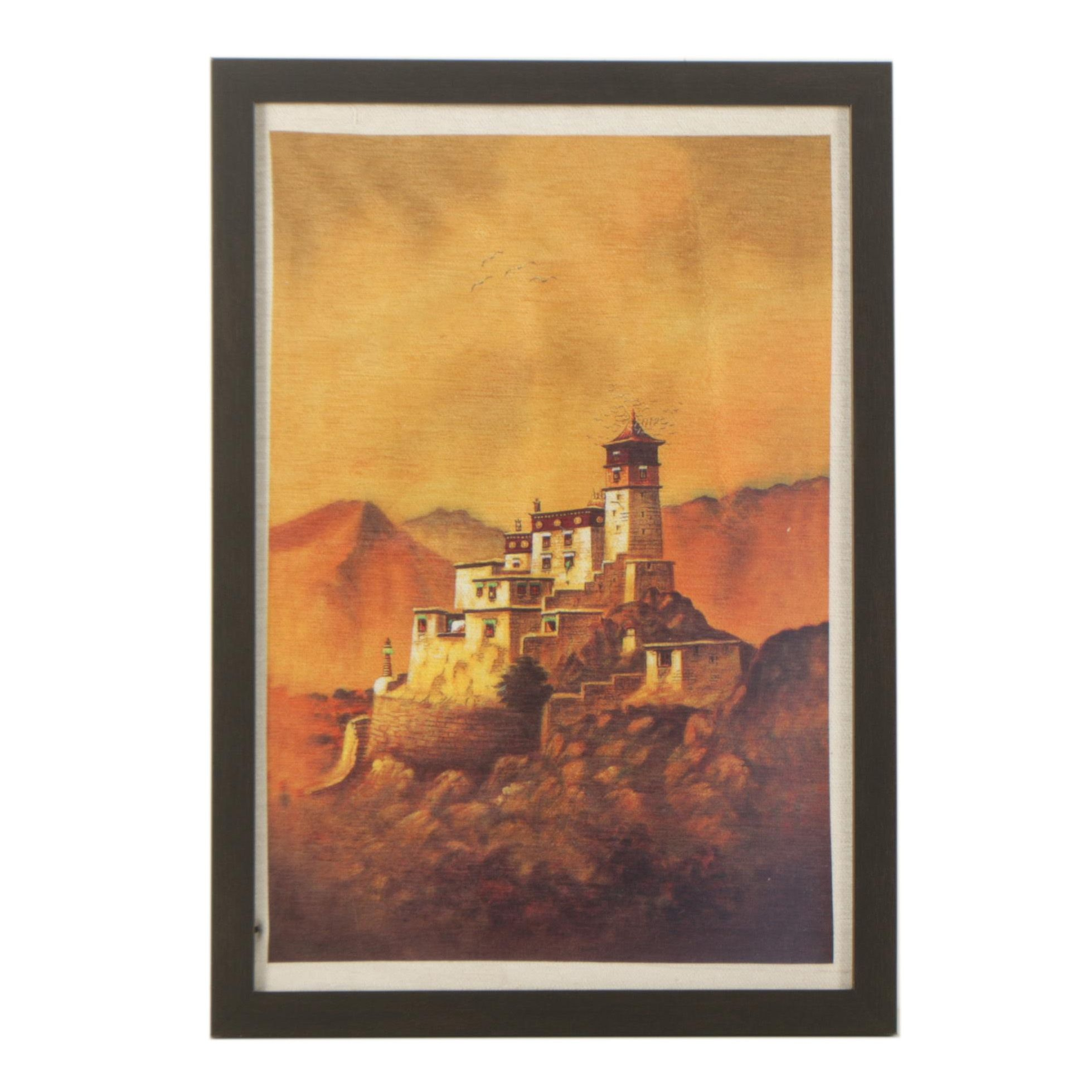 Giclee on Fabric of Architecture