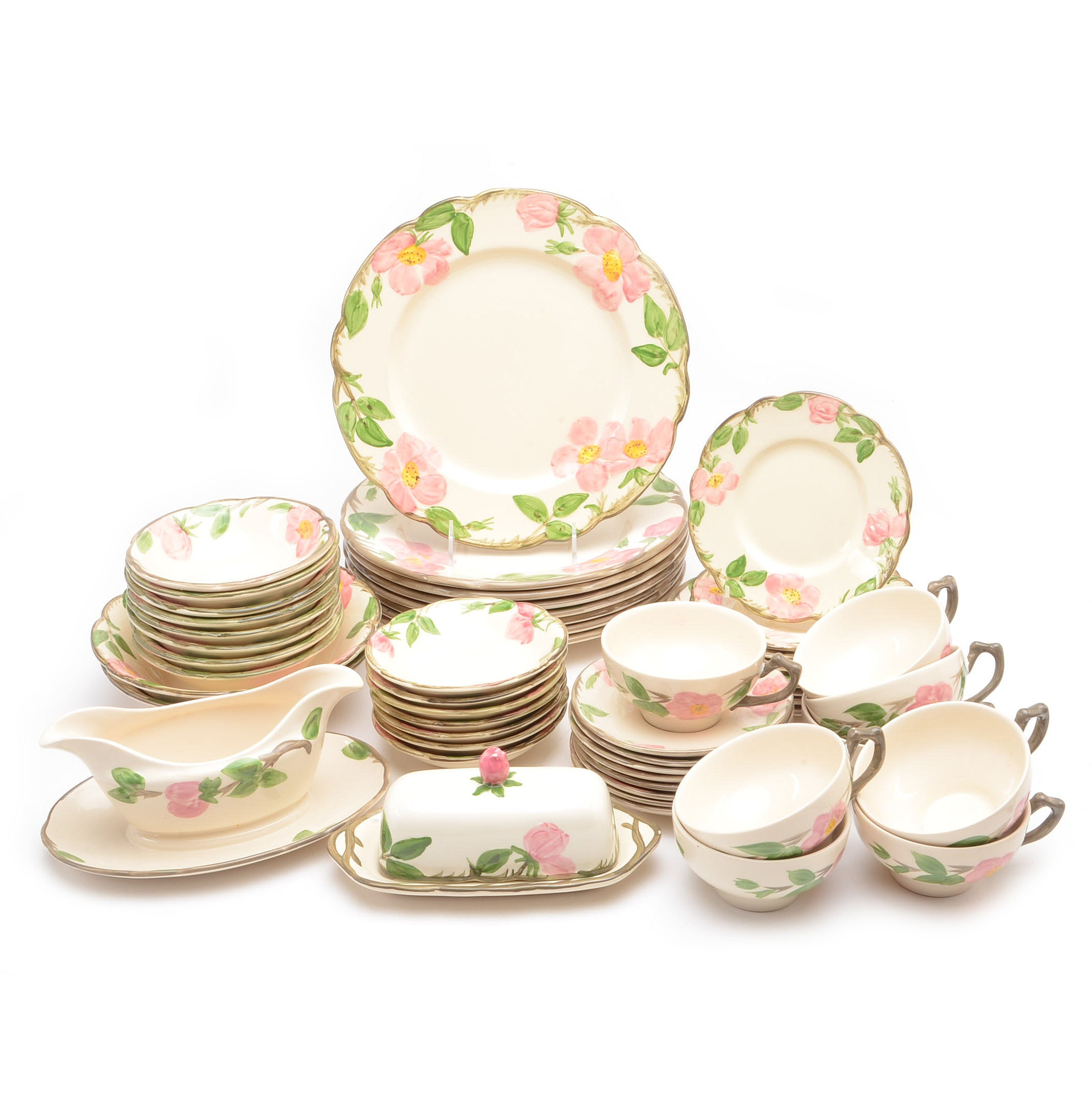 Collection of Franciscan  Desert Rose  Dinnerware ...  sc 1 st  EBTH.com & Collection of Franciscan