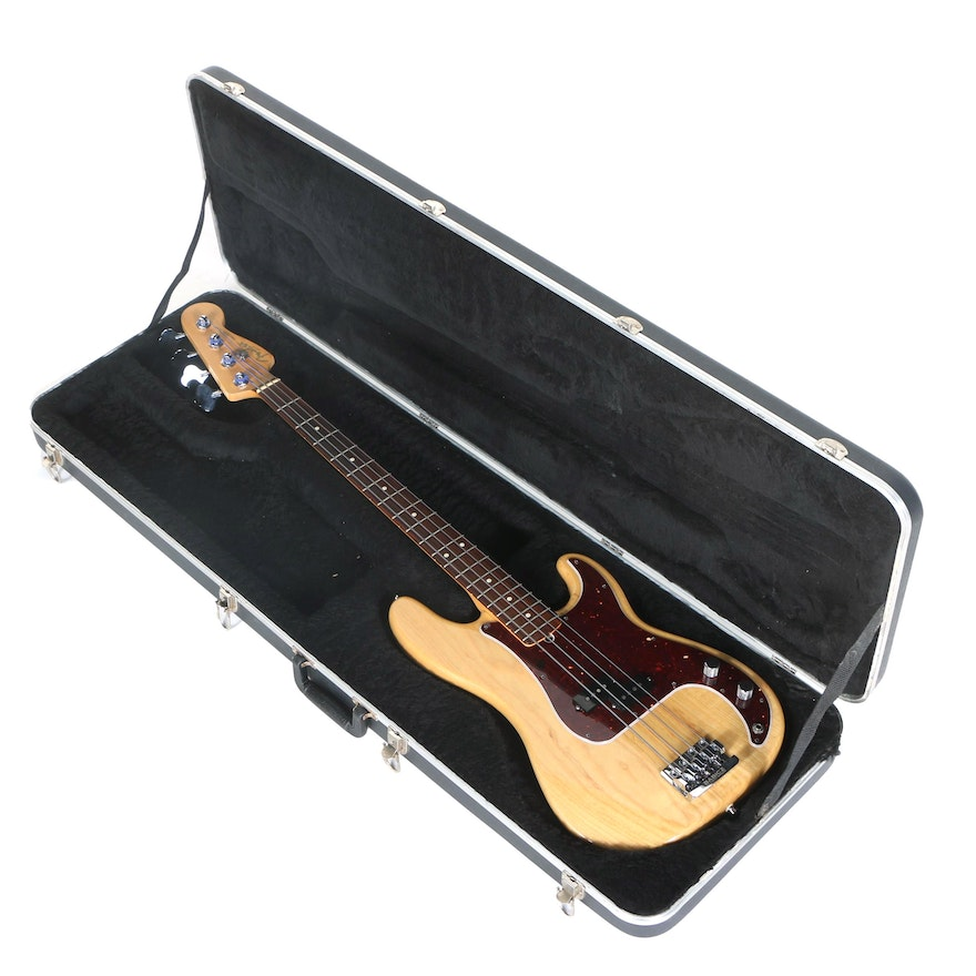 012a746a61 1998 Fender American Standard Precision Bass with Hardshell Case : EBTH