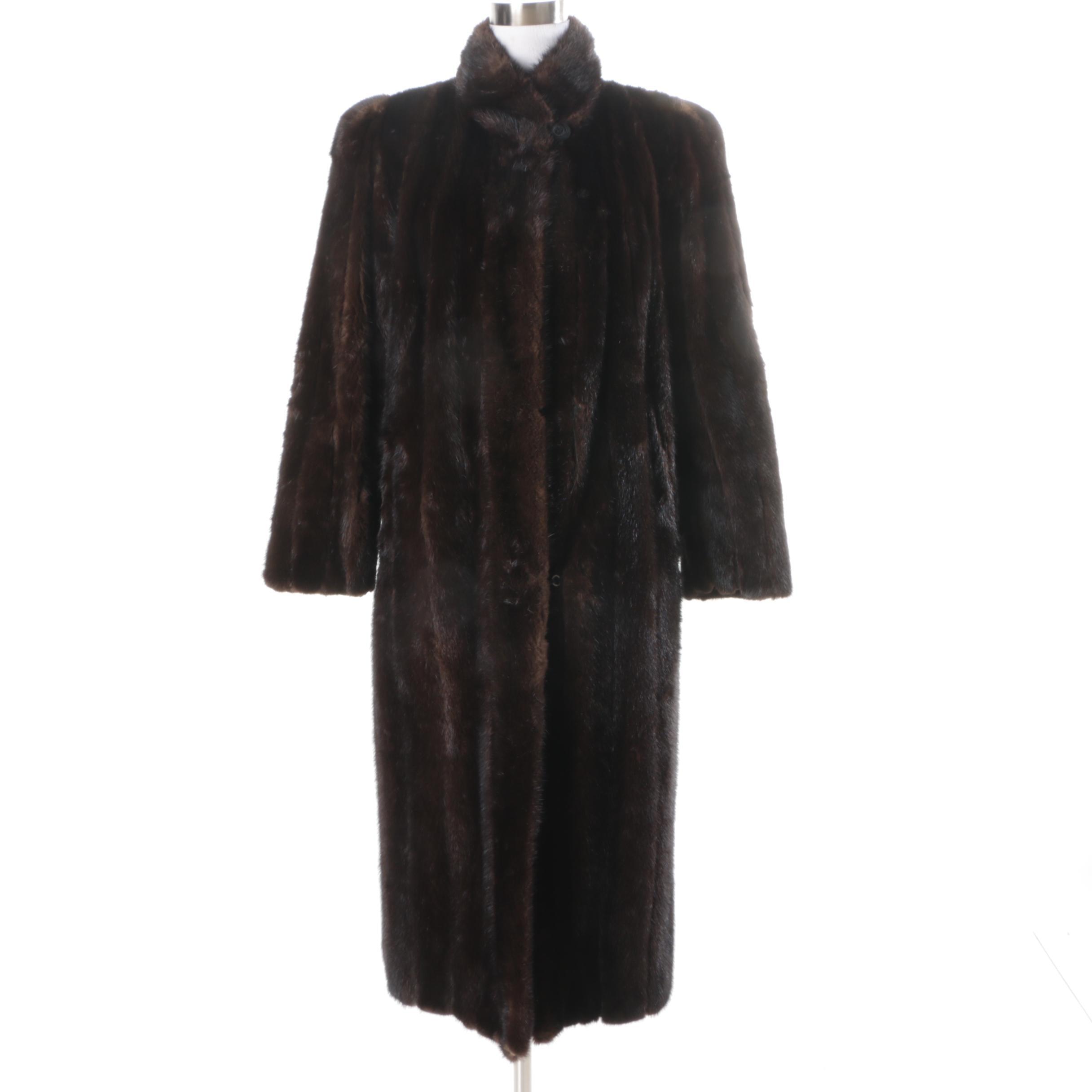 Women's Vintage Mink Fur Coat
