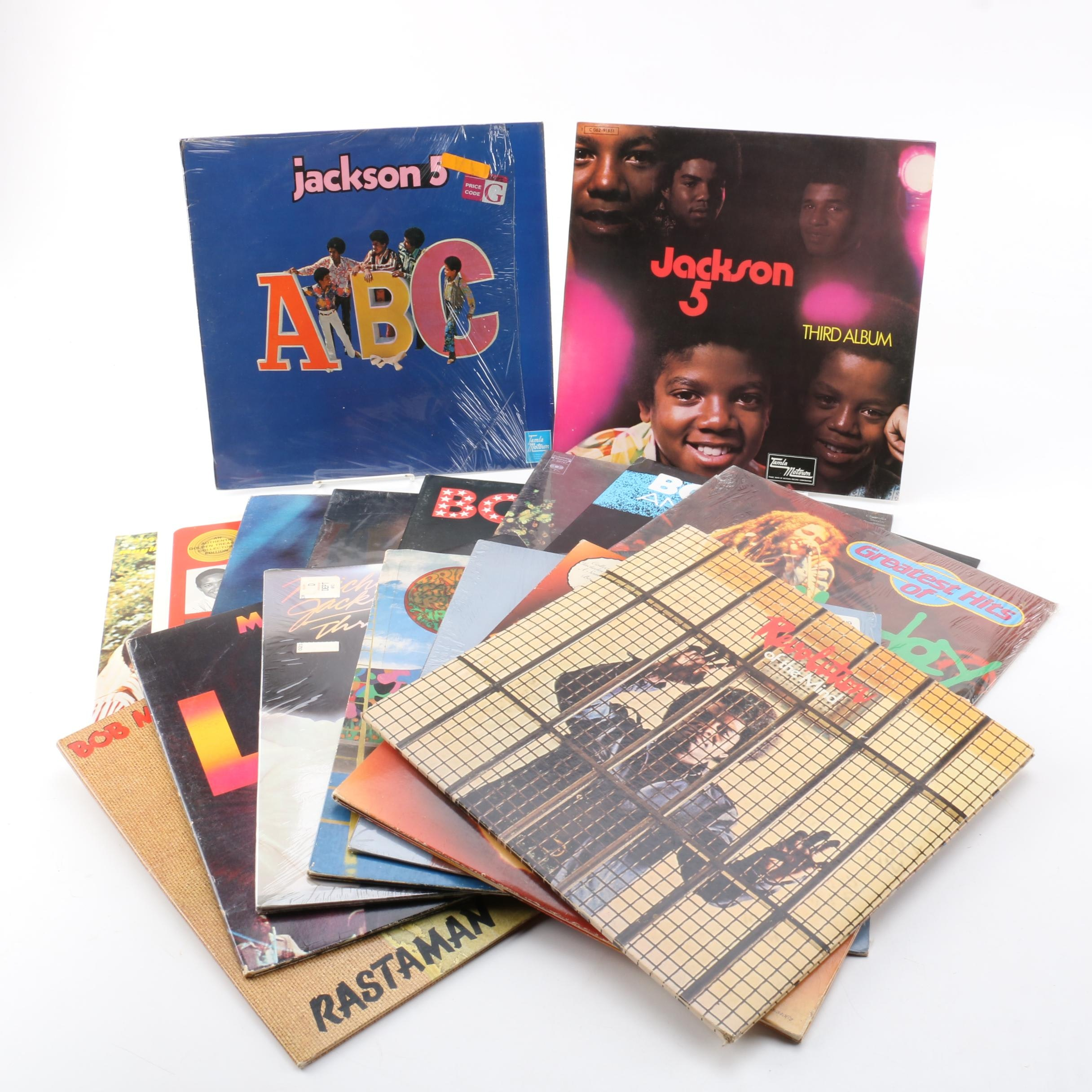 Prince, Jackson 5, Bob Marley, Sam Cooke, Taj Mahal, Bootsy Collins and More LPs