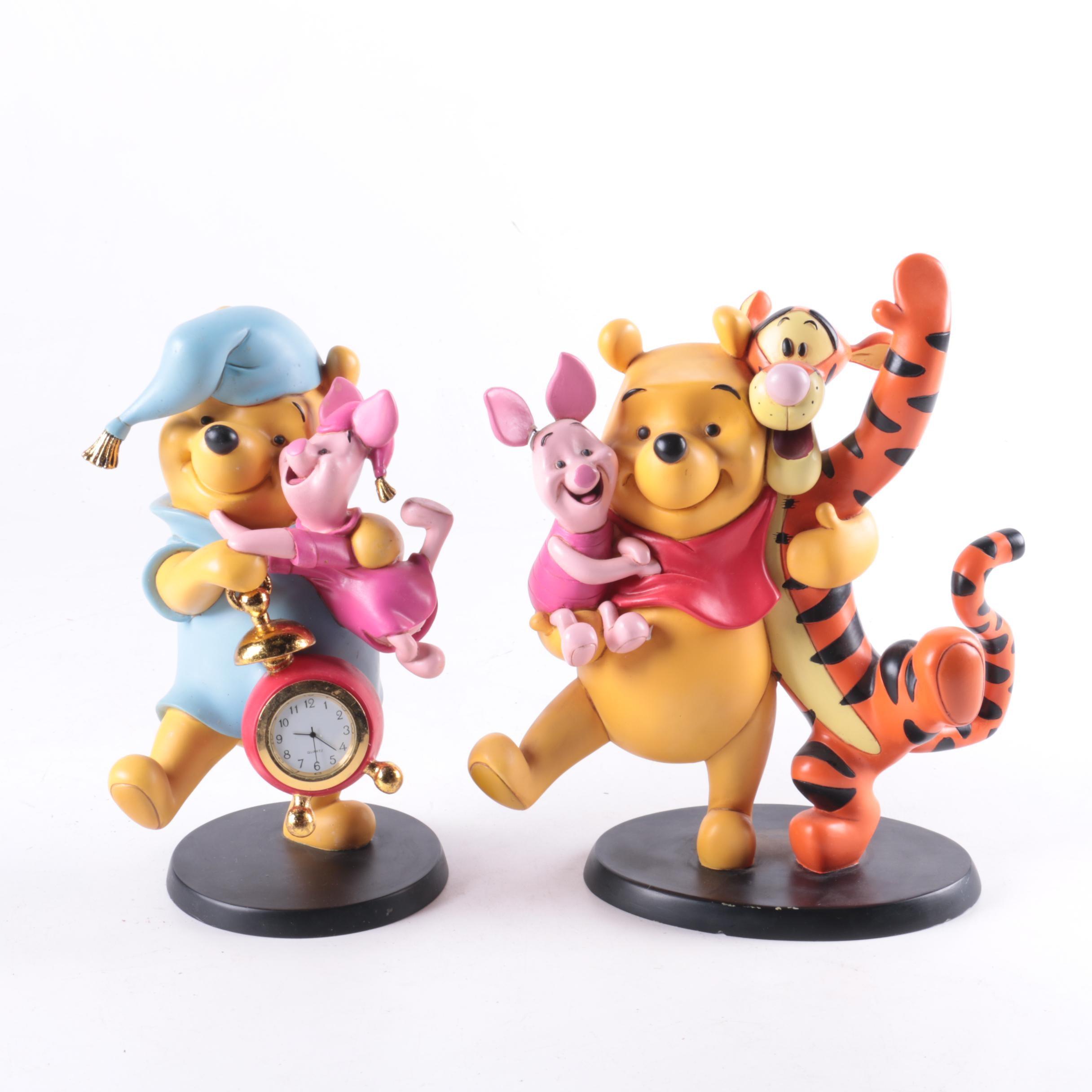 """Resin """"Winnie The Pooh"""" Figurines"""