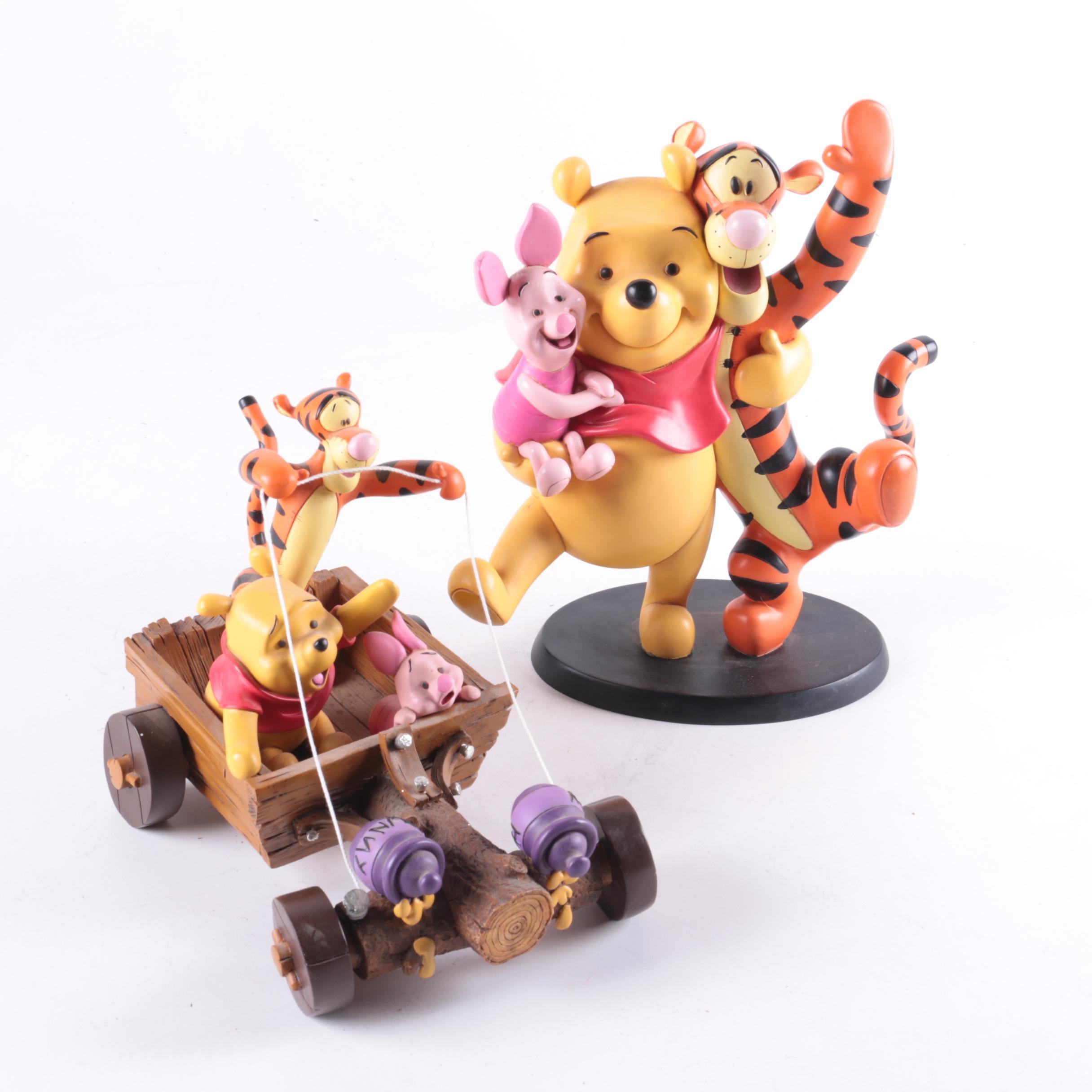 "Resin ""Winnie The Pooh"" Decor"