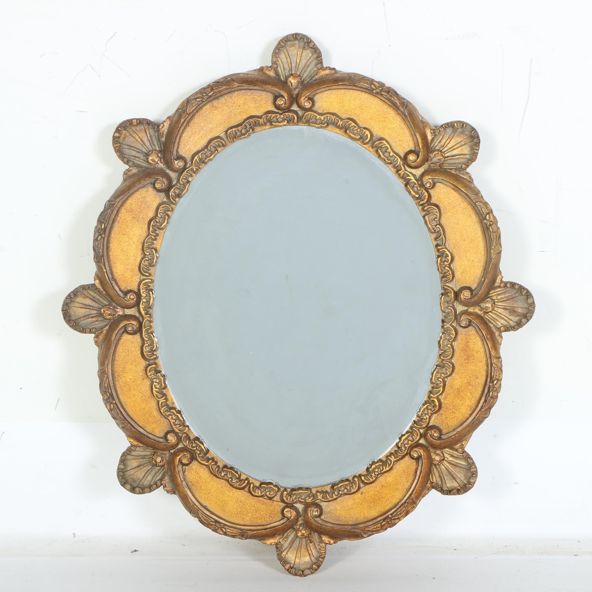 Louis XV Style Gilded Wall Mirror