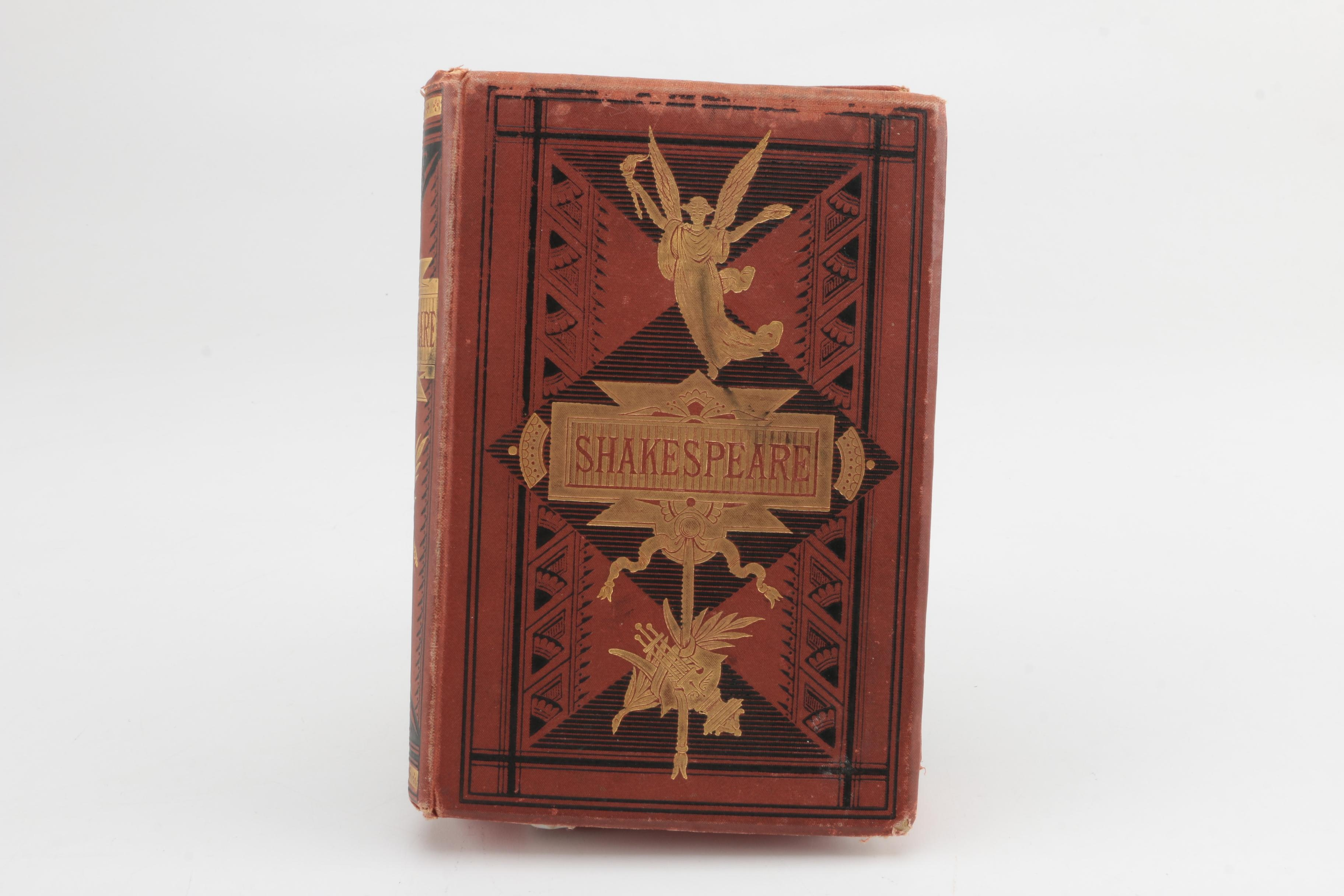 """1871 """"The Dramatic Works of William Shakespeare"""""""
