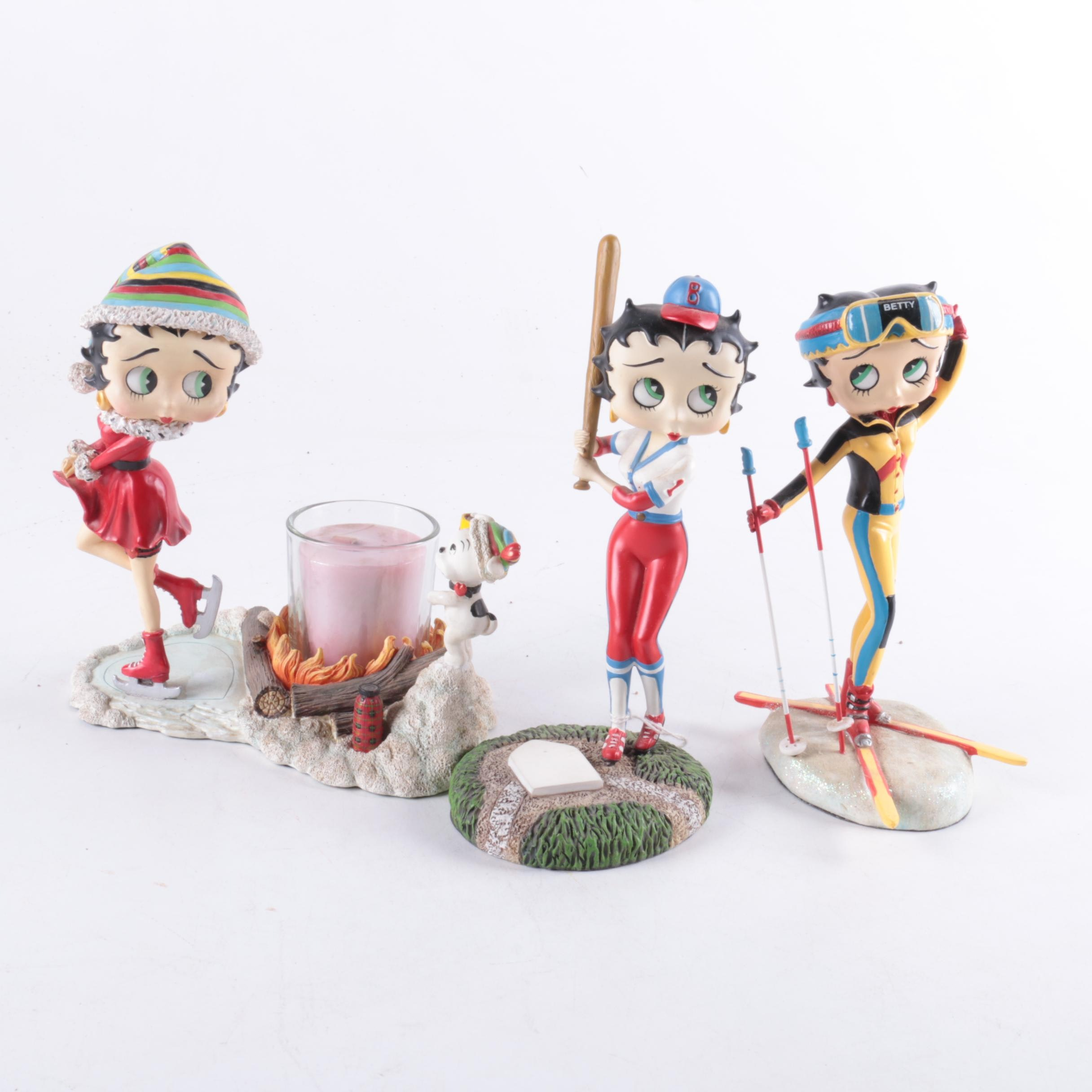 Betty Boop Figurines by the Danbury Mint