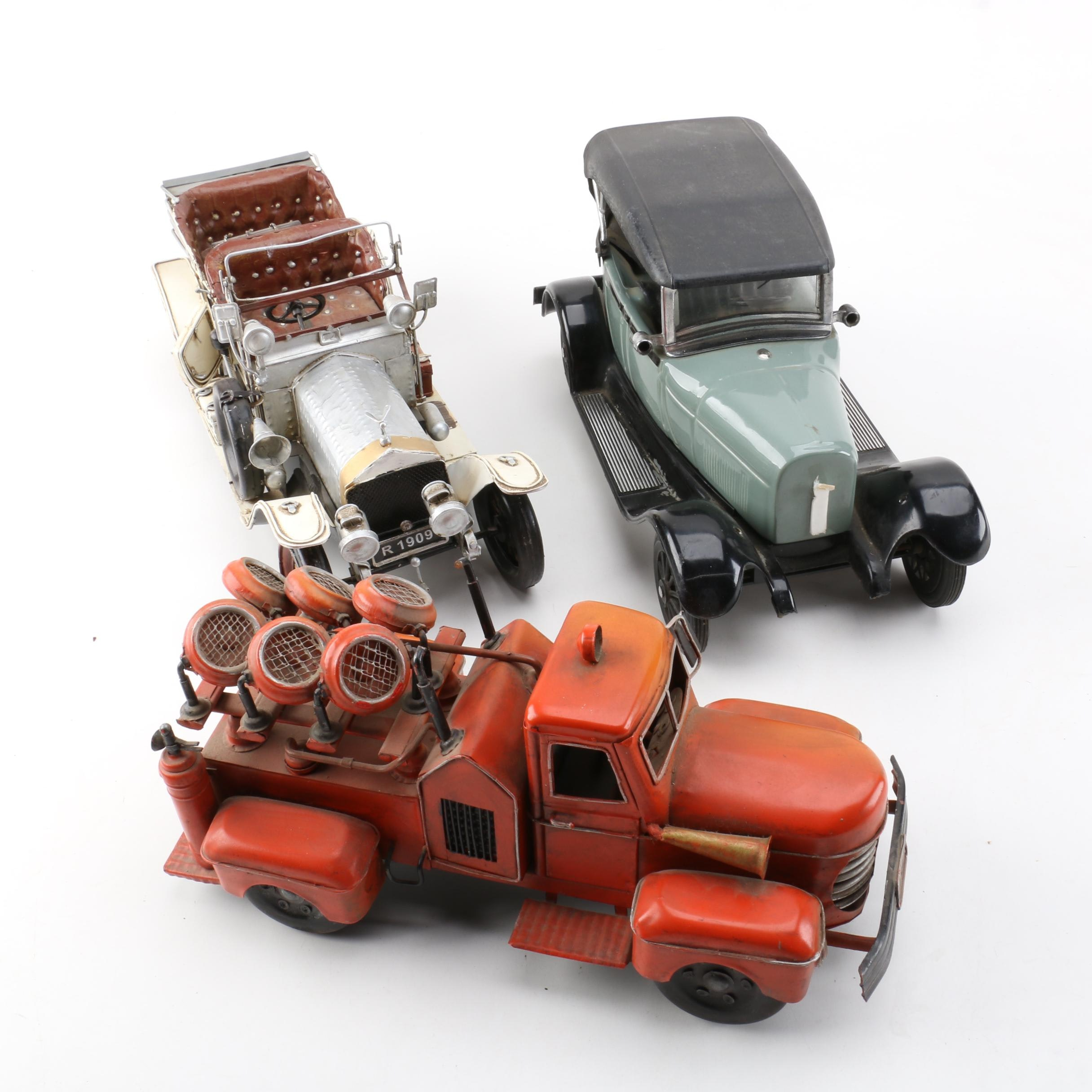 Die-Cast Cars and Jim Beam 1929 Ford Model A Decanter