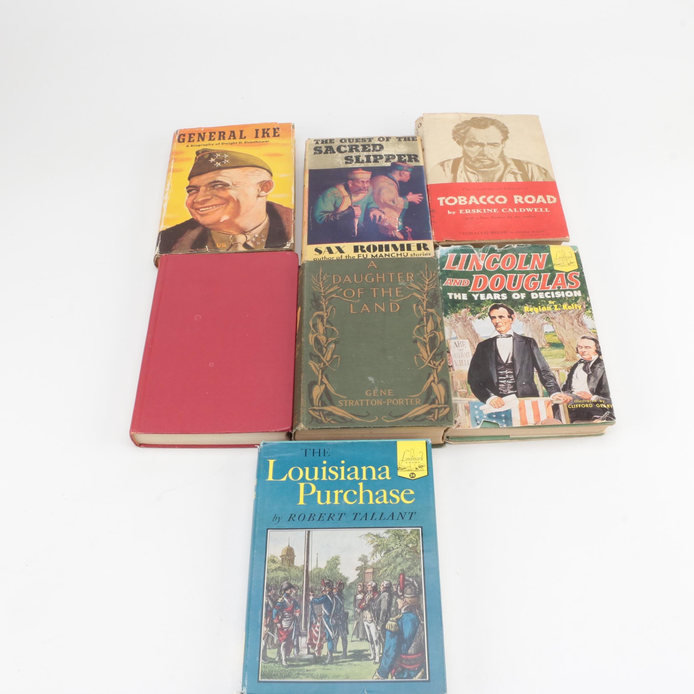 """Vintage Historical Books Including """"The Louisiana Purchase"""""""