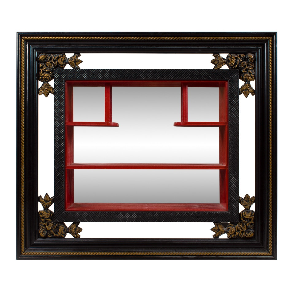 Framed Shadow Box Wall Shelf