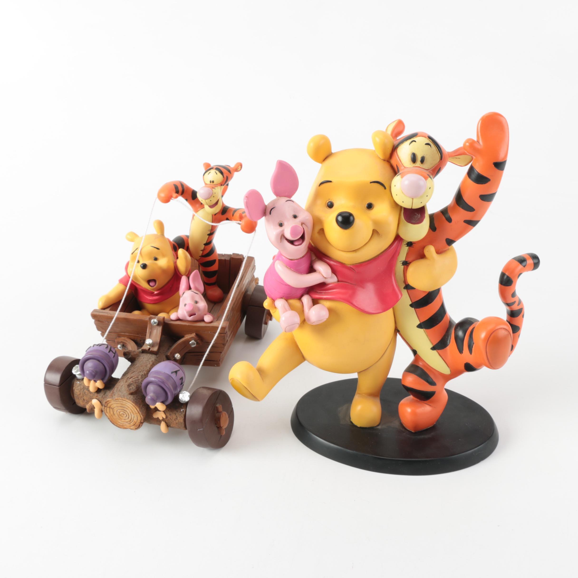 """Winnie The Pooh"" Figurines by Disney"