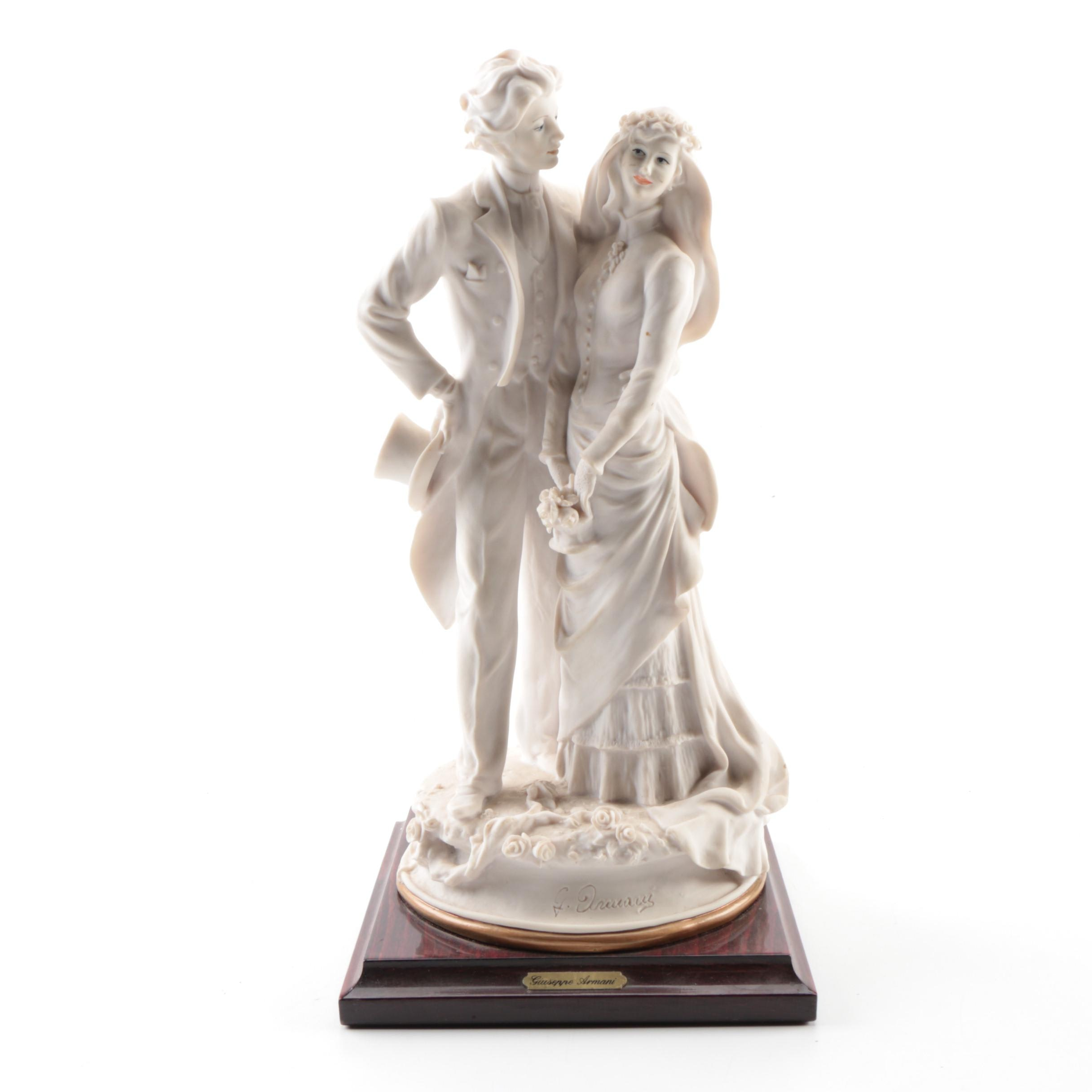 Capodimonte Giuseppe Armani Figurine of Wedding Couple
