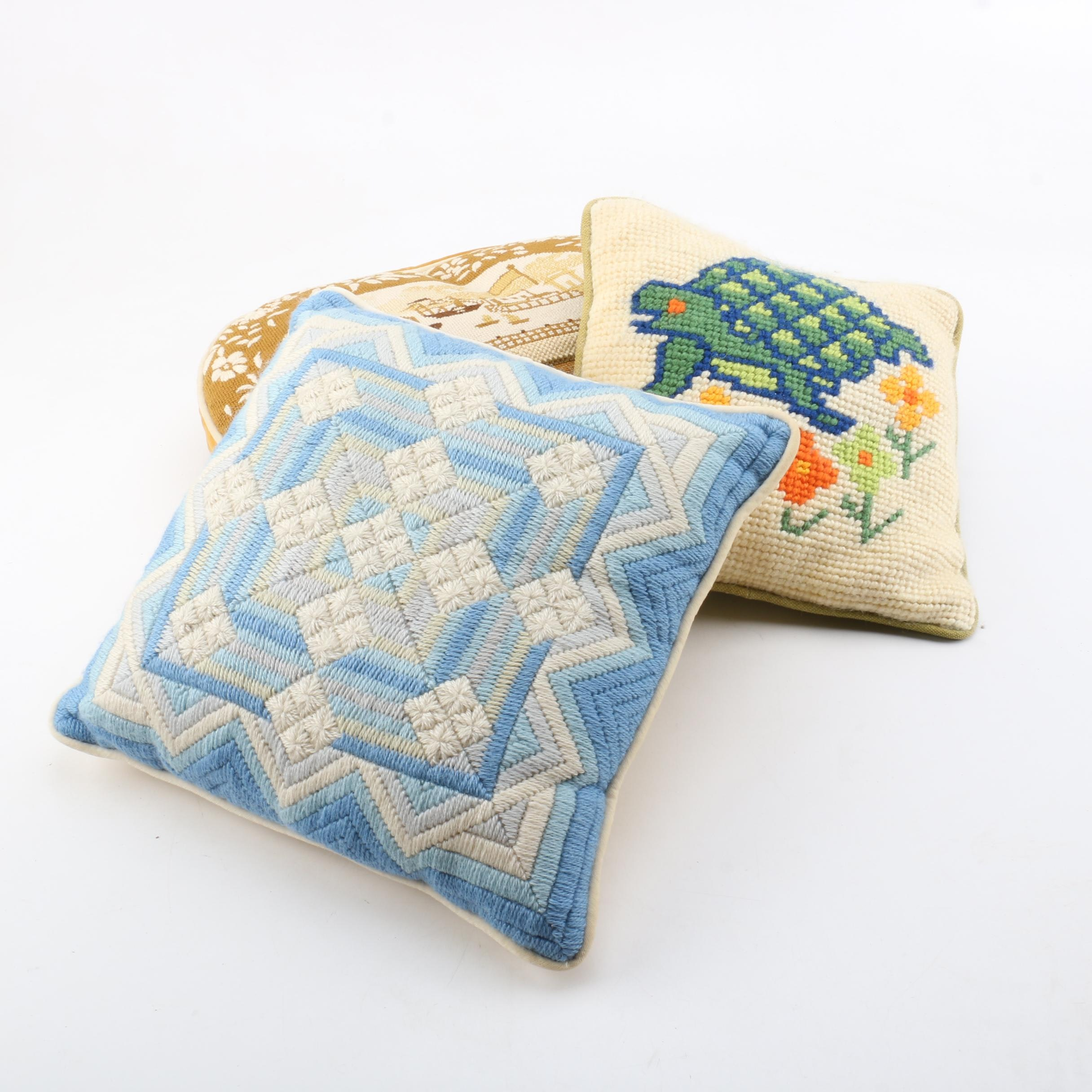 Collection of Three Pillows