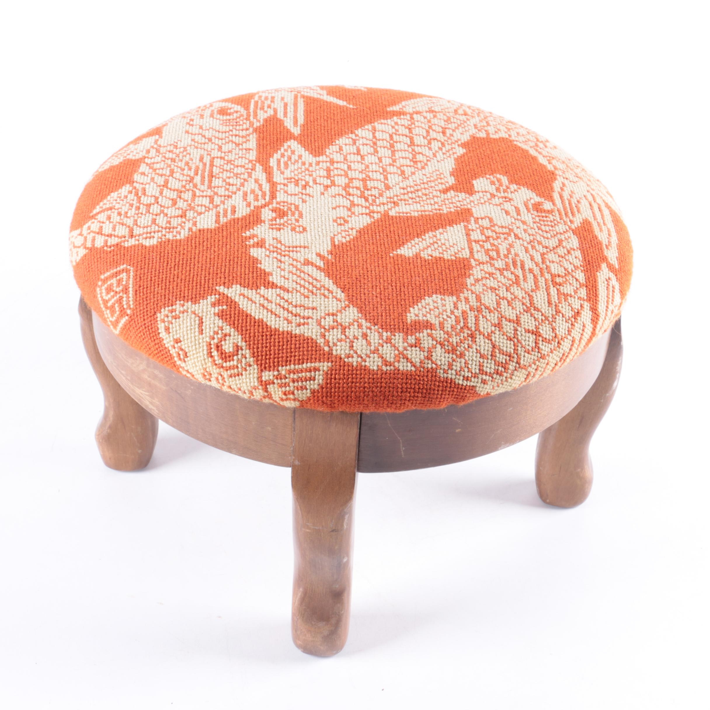 Mid-Century Footstool by Paxton Products Inc.