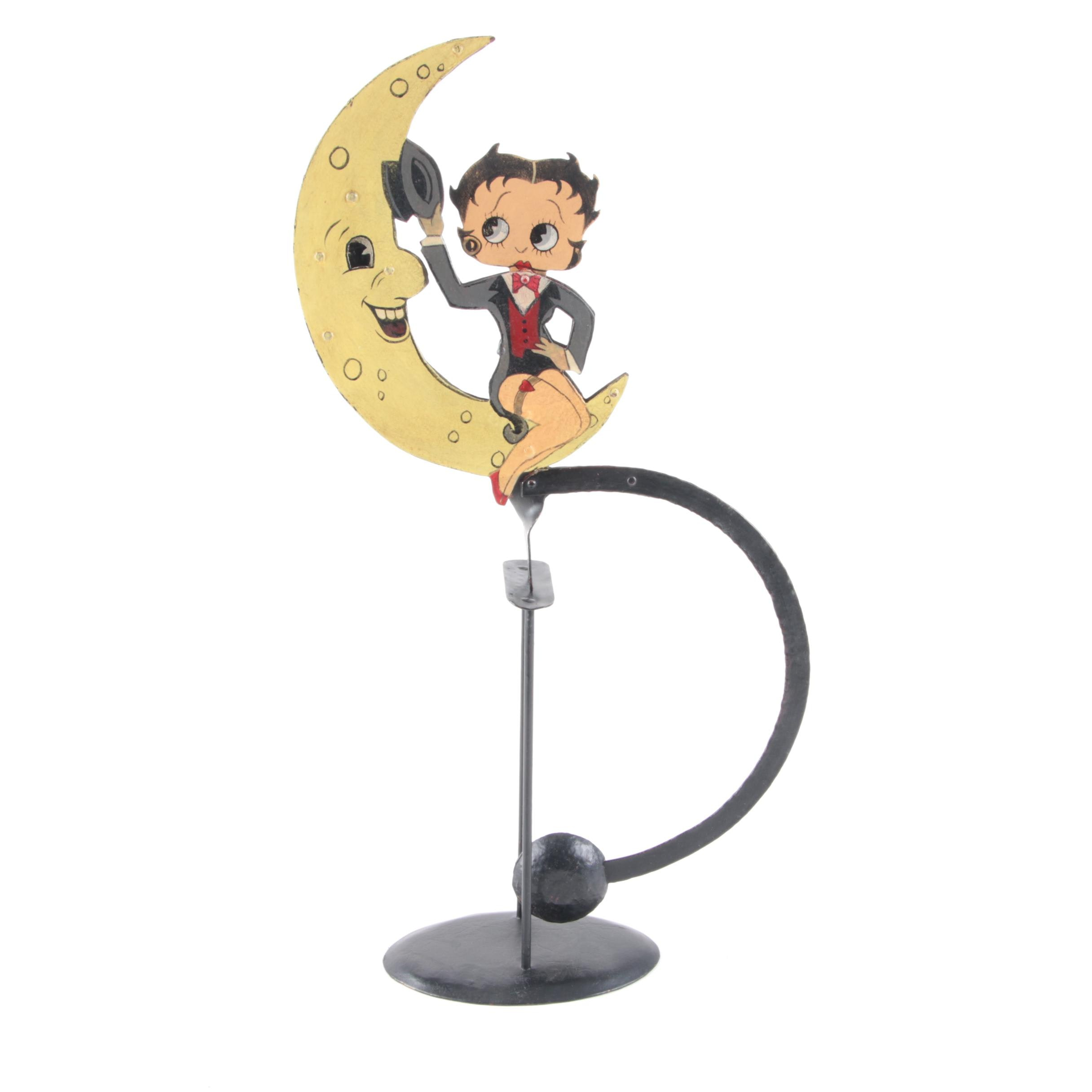 """Betty Boop"" Metal Motion Figurine"