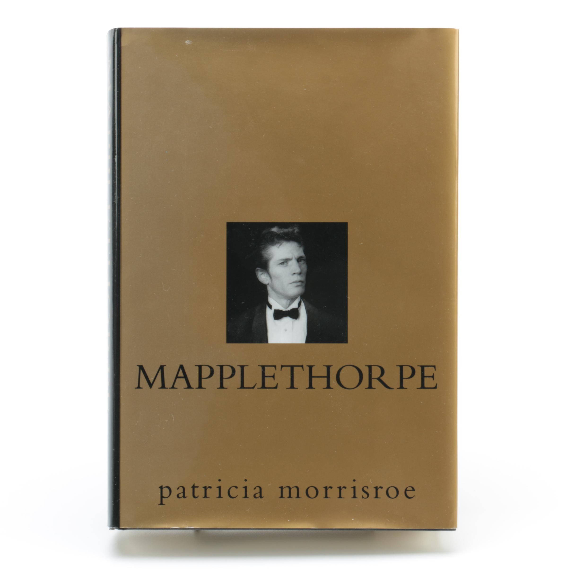 "1995 First Edition ""Mapplethorpe: A Biography"" by Patricia Morrisroe"