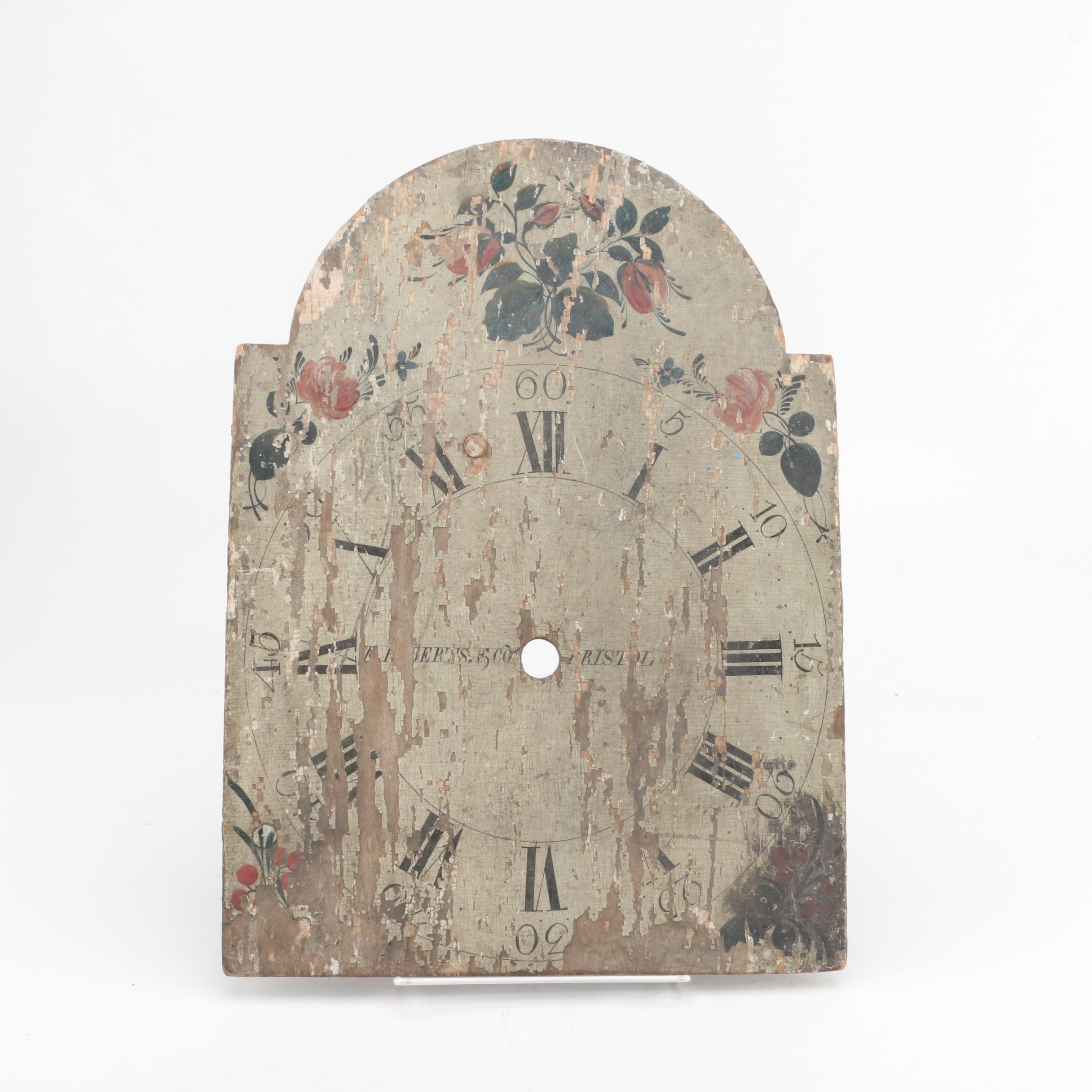 Wooden Gilbert & Sons Clock Face