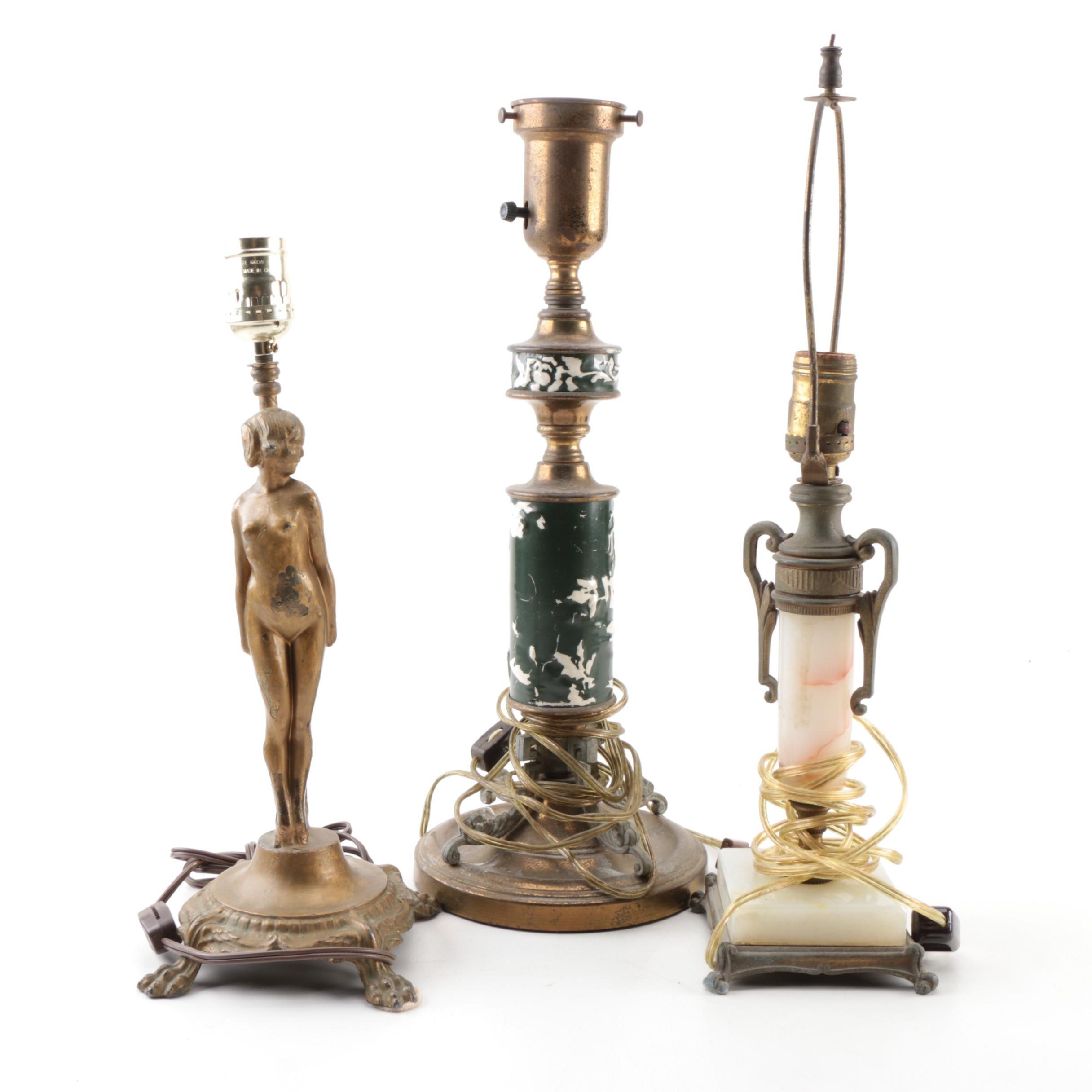 Collection of Vintage Table Lamps