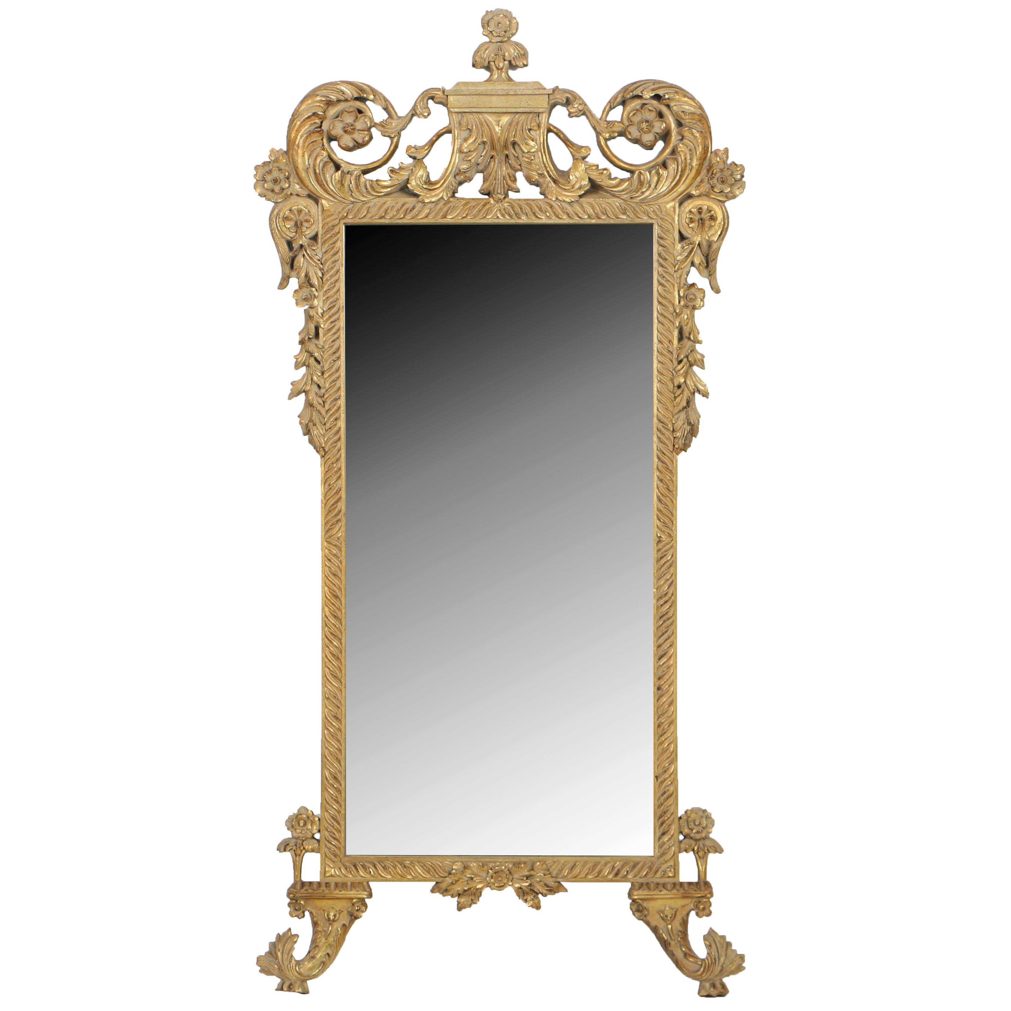 John Richard Baroque Carved Mirror
