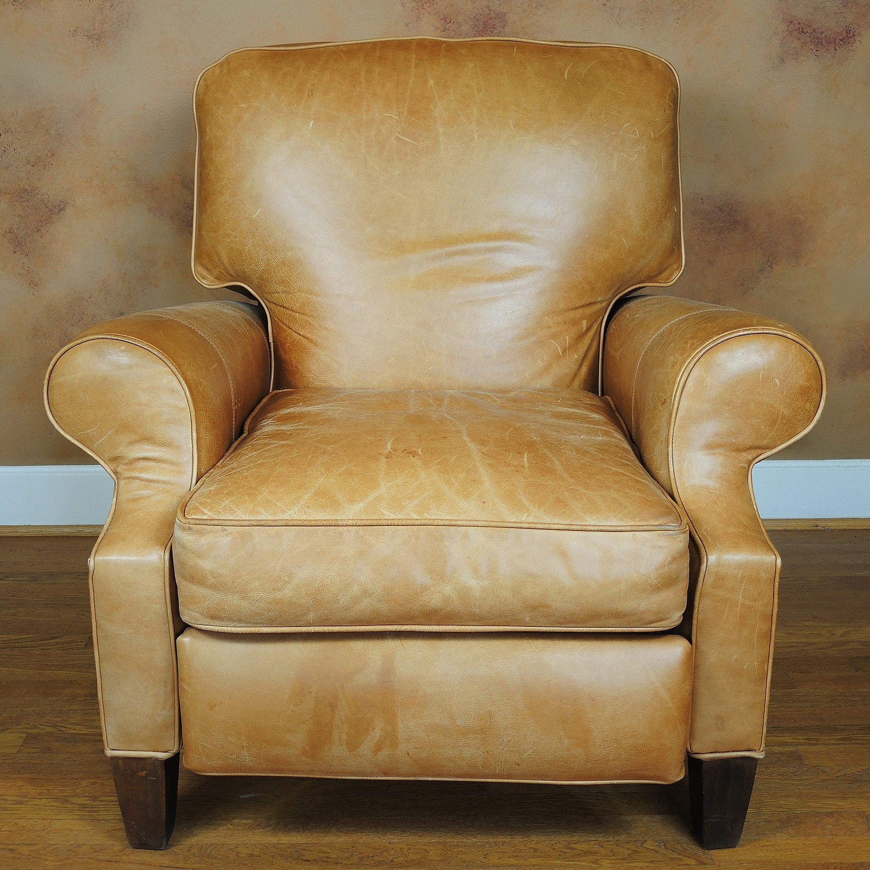 Arhaus Leather Recliner